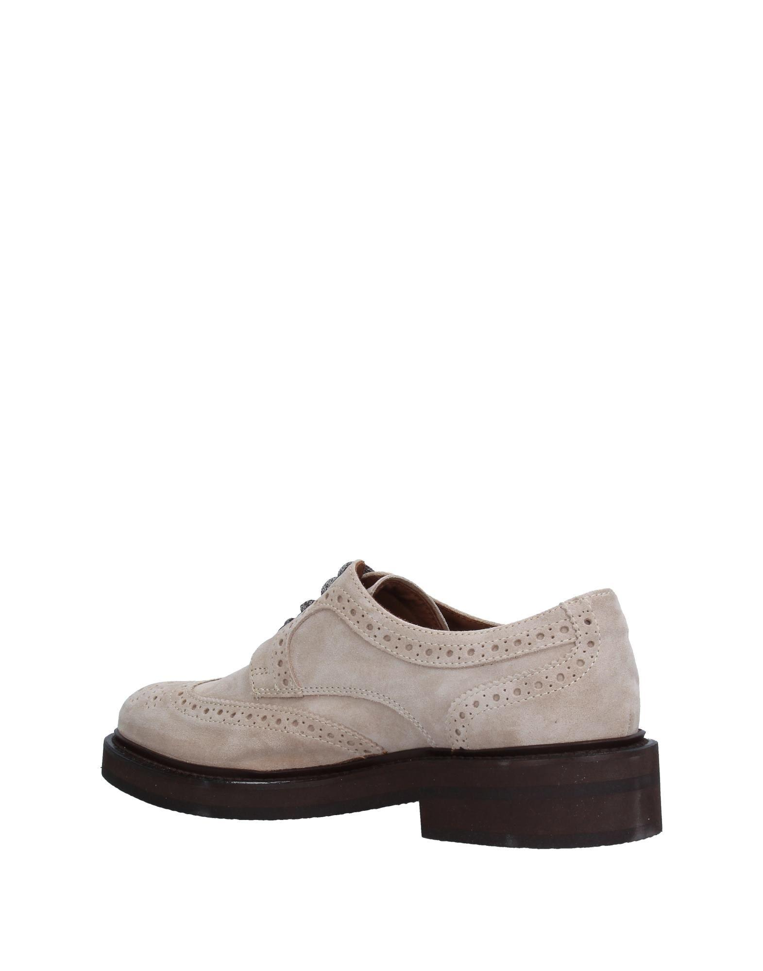Eleventy Leather Lace-up Shoe in Beige (Natural) for Men