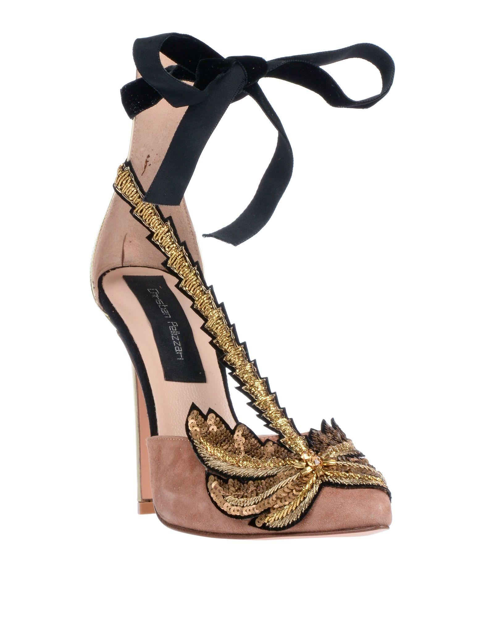 Zapatos de salón Christian Pellizzari de color Neutro