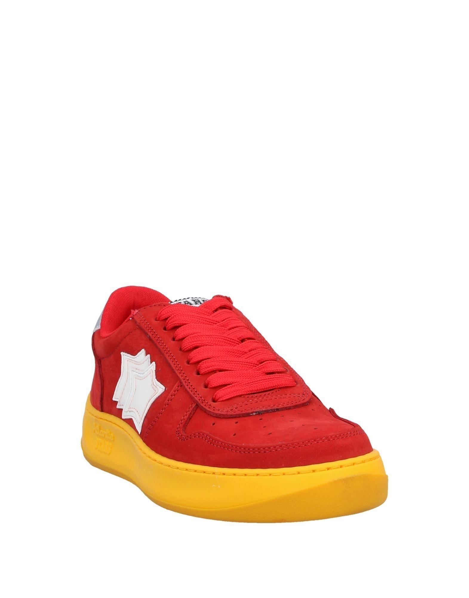 Sneakers & Deportivas Atlantic Stars de Cuero de color Rojo