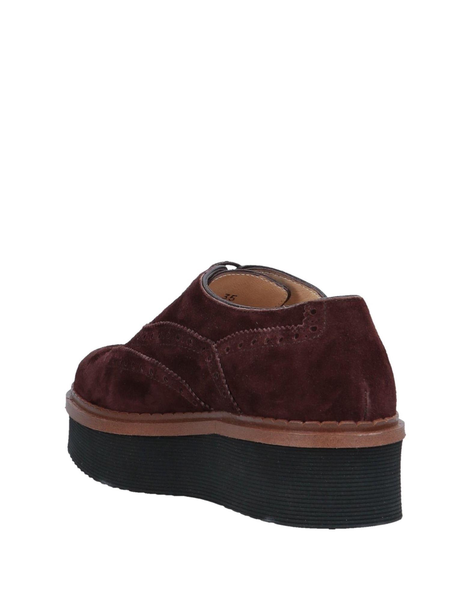 Chaussures à lacets Daim Triver Flight en coloris Marron