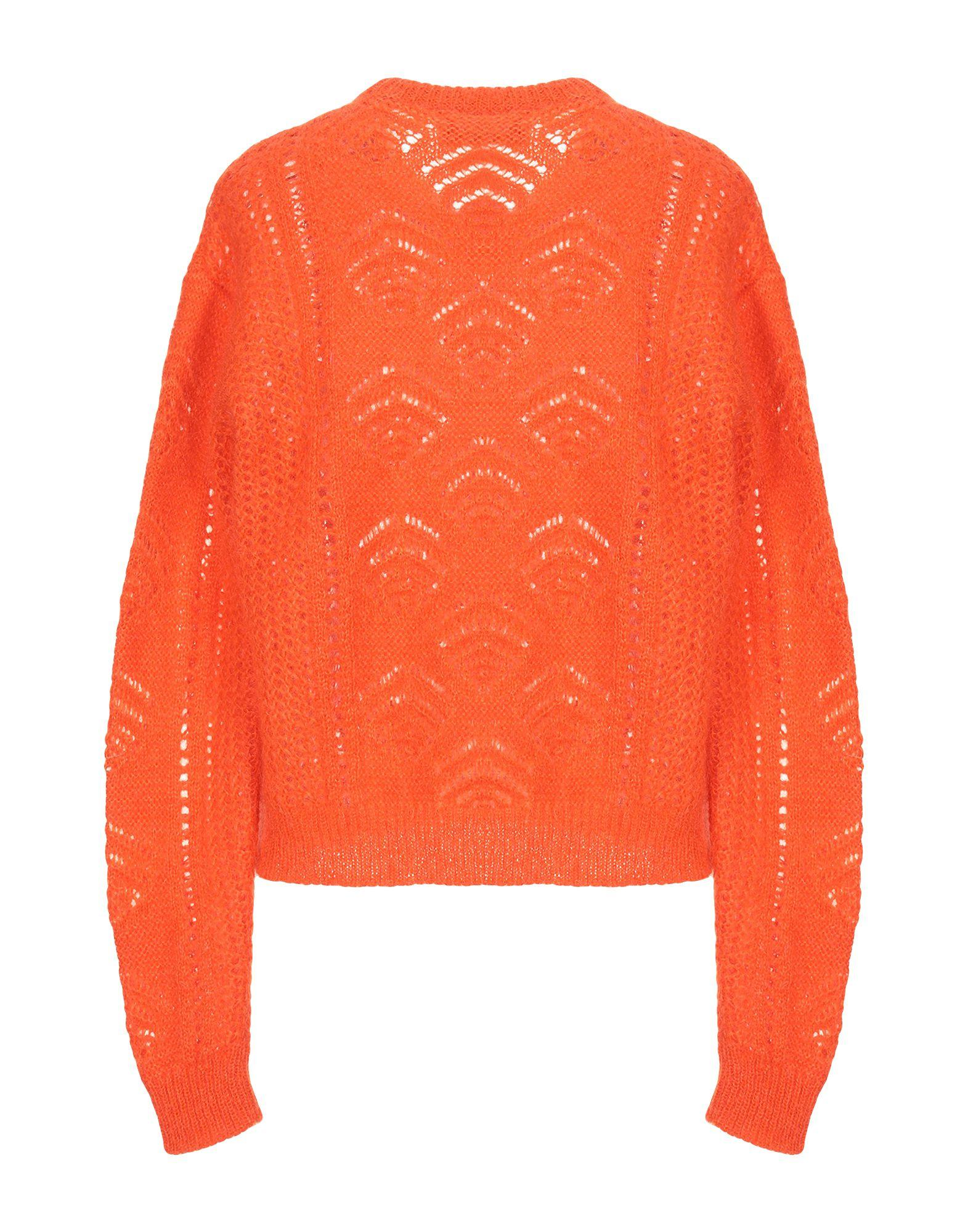 Pullover Laines Rochas en coloris Orange