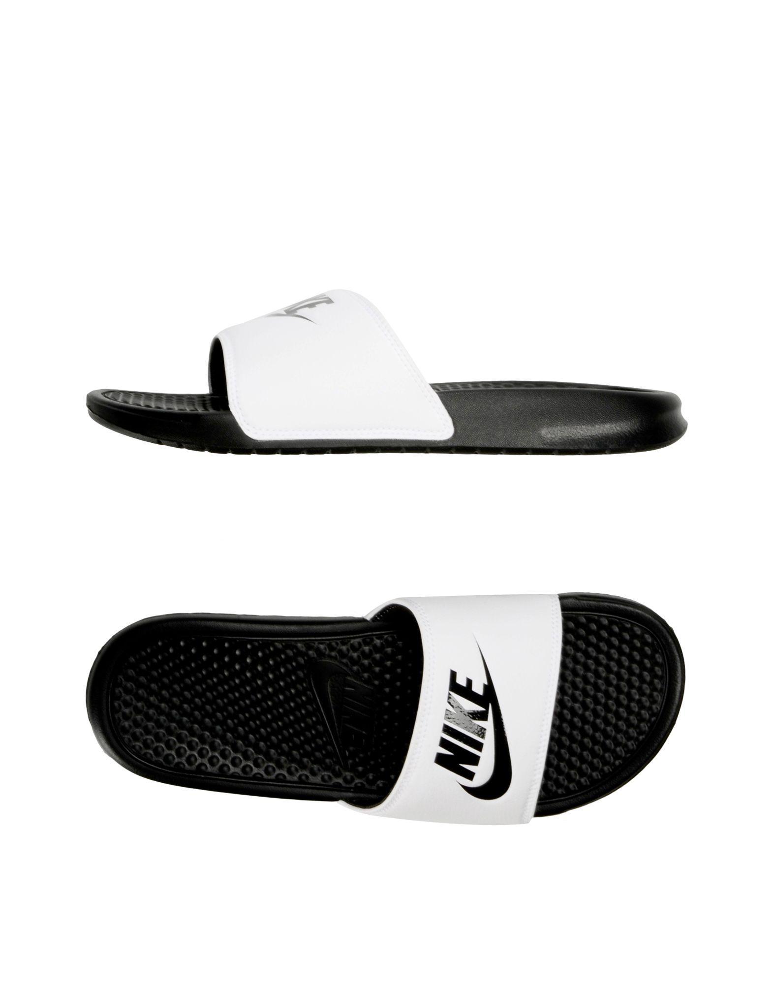 686427bbf Nike Sandals in White for Men - Lyst