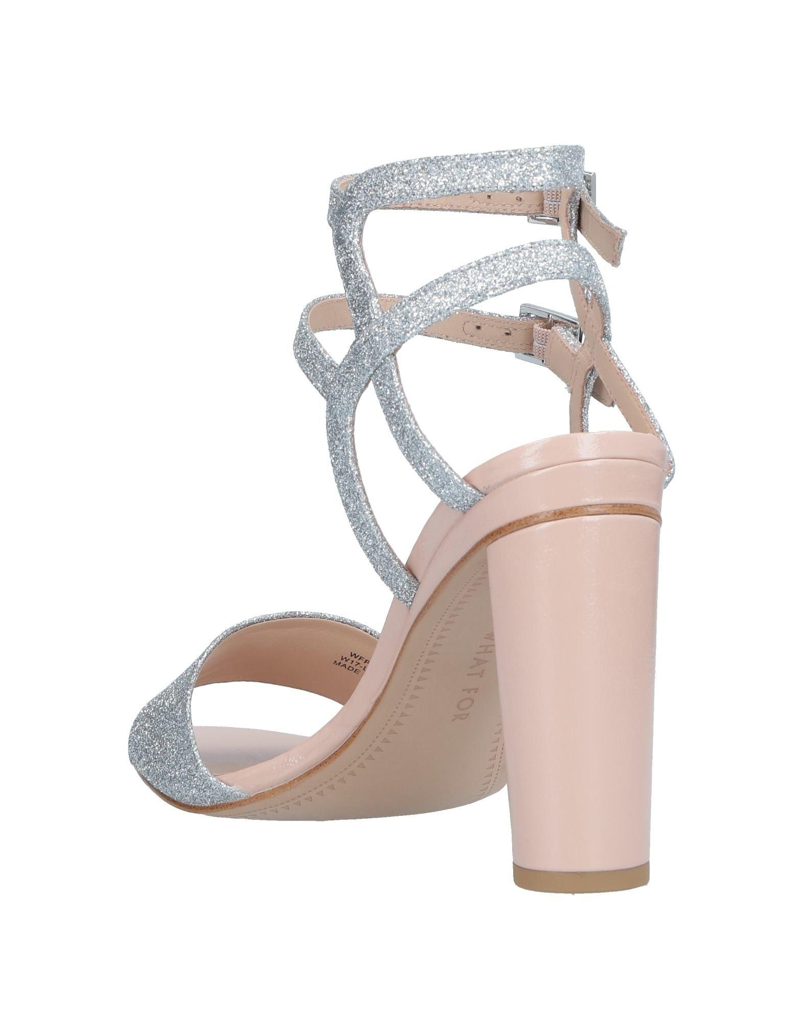 334545be40a3 Lyst - What For Sandals in Metallic