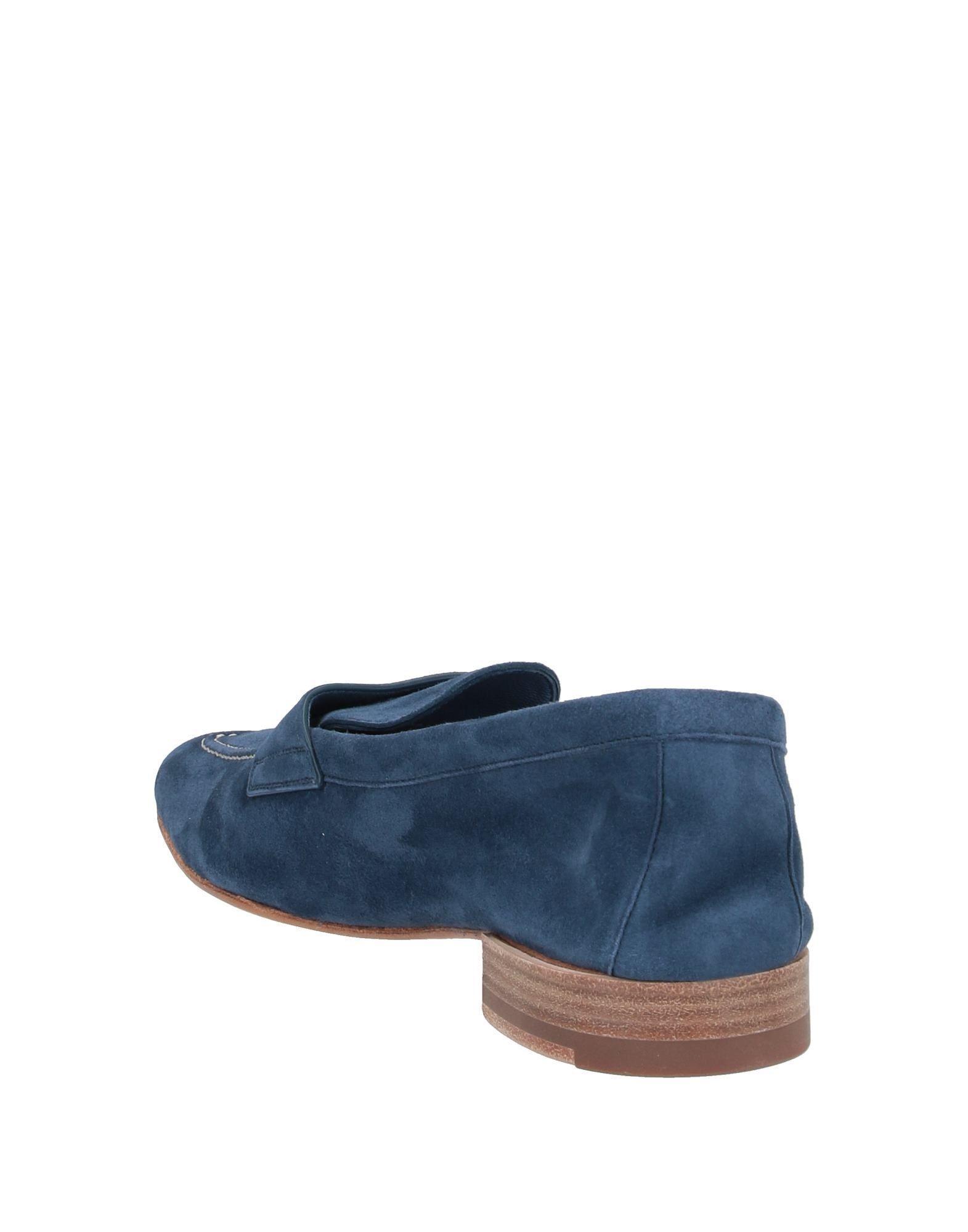 Mocasines Santoni de color Azul