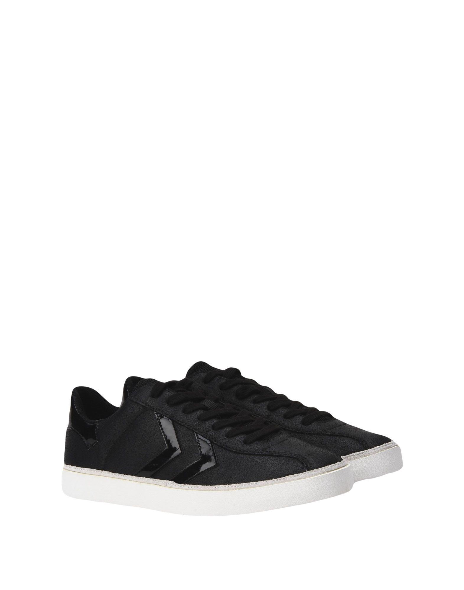 Hummel Leather Low-tops & Sneakers in Black