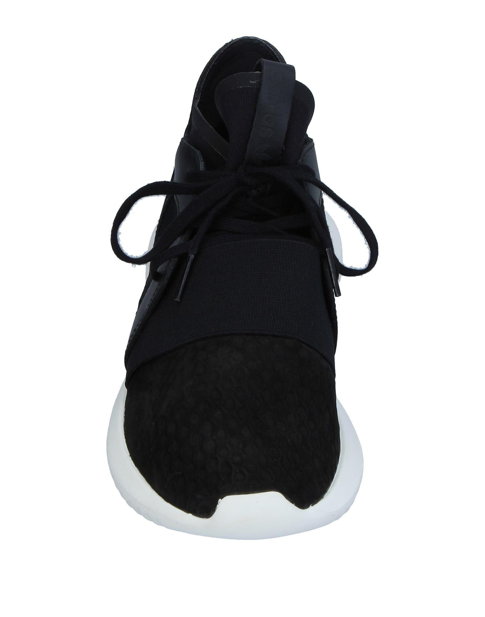 adidas Originals Leather High-tops & Sneakers in Black