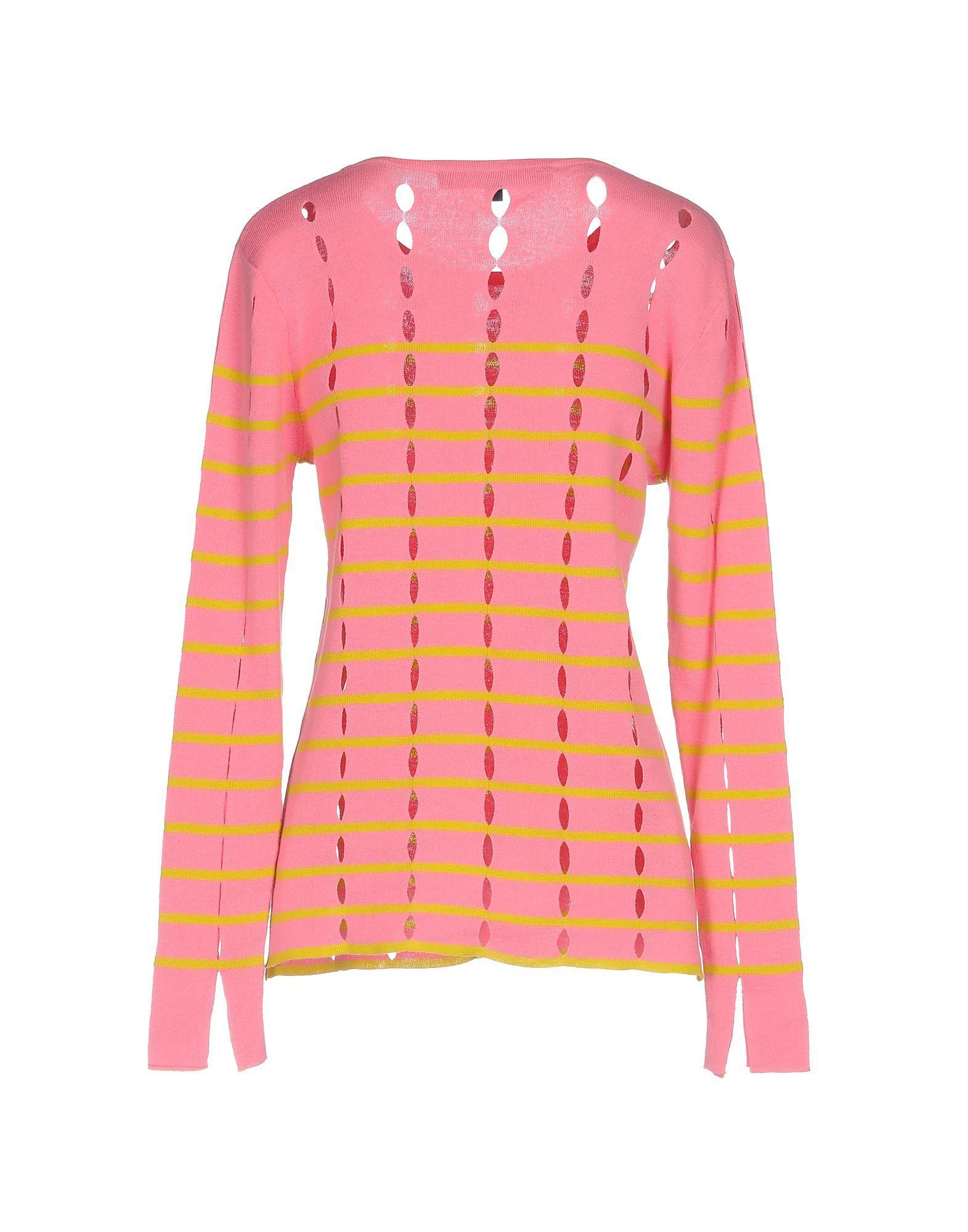 Pullover Coton French Connection en coloris Rose