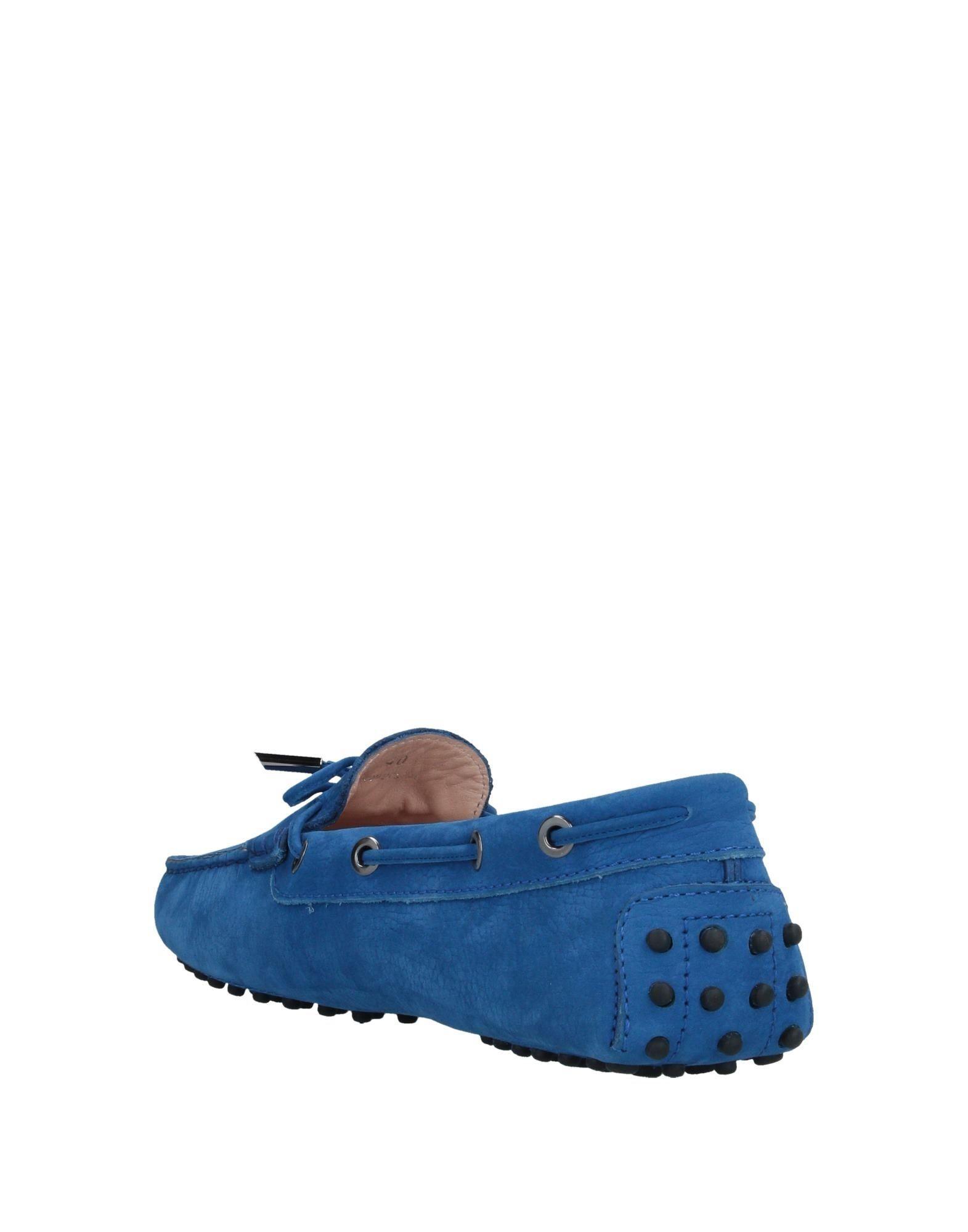 Mocasines Tod's de Caucho de color Azul