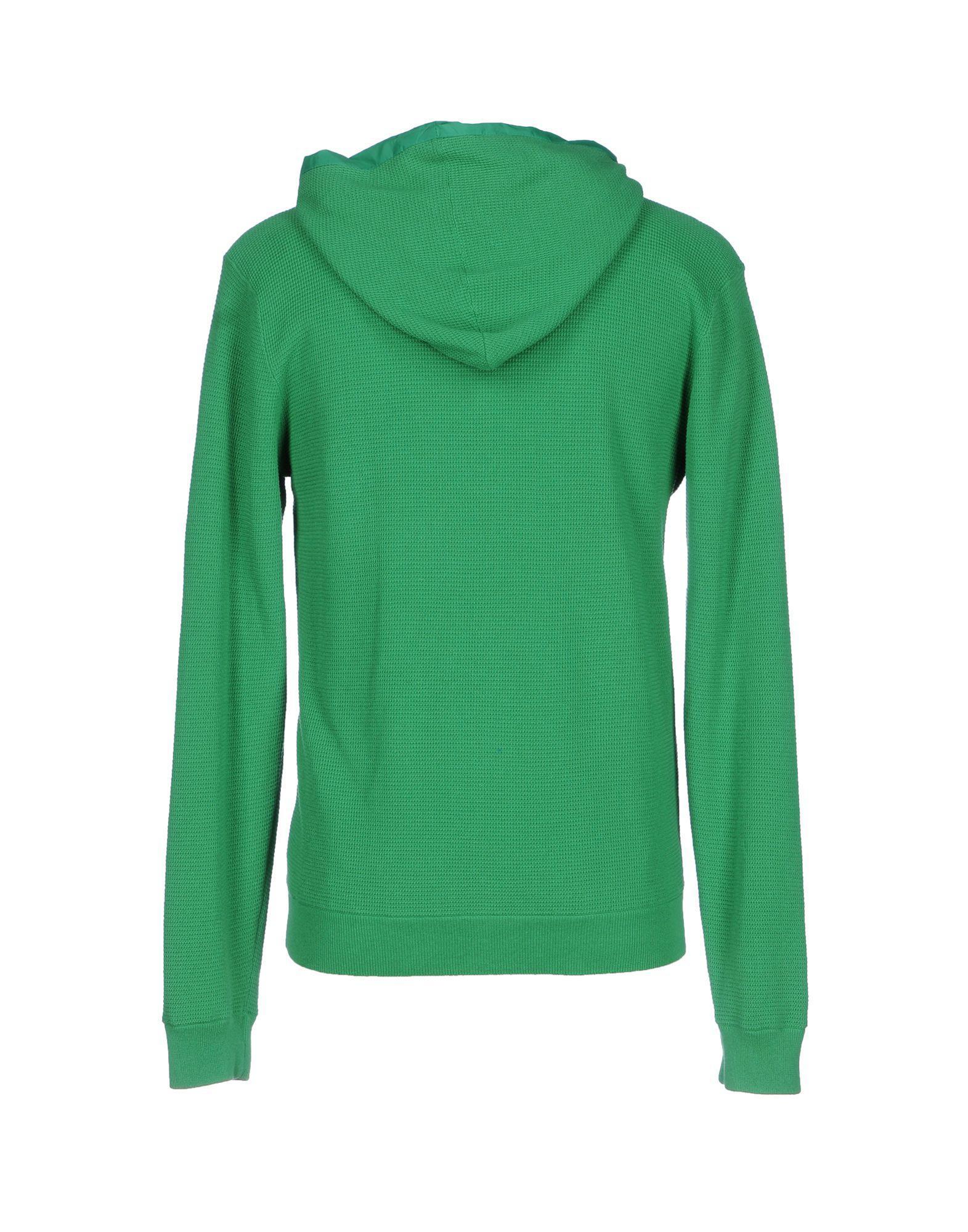 Bark Cotton Jacket in Green for Men