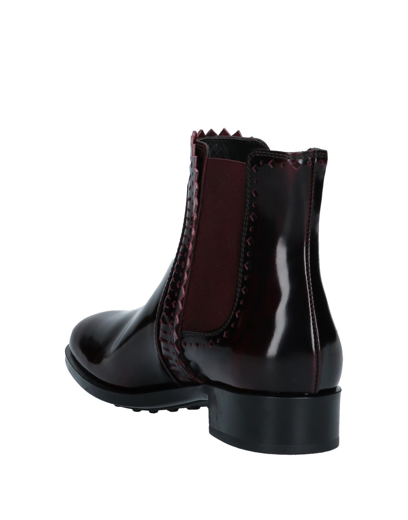 Botines de caña alta Tod's de Cuero de color Negro