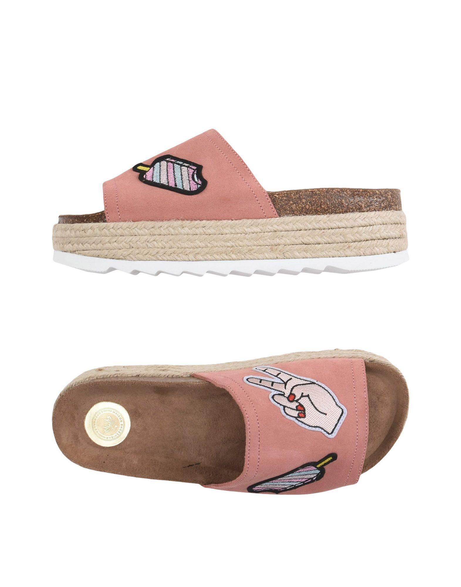 In Pink Lyst Maison Sandals Shoeshibar 7qBEO