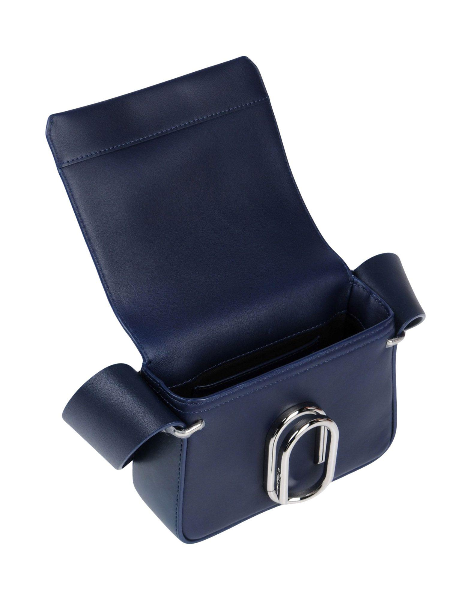 3.1 Phillip Lim Leather Cross-body Bag in Dark Blue (Blue)