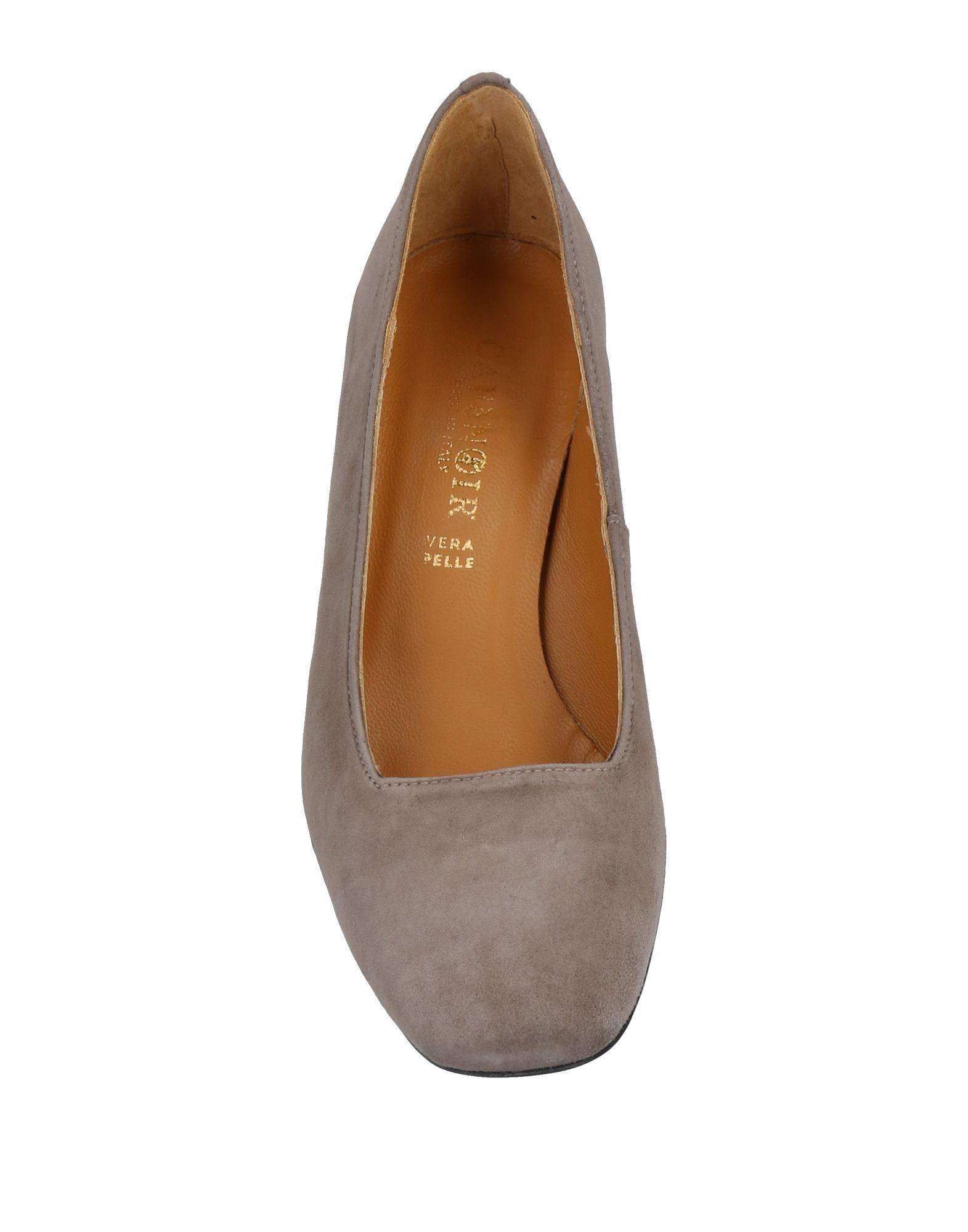 Zapatos de salón CafeNoir de Cuero de color Marrón