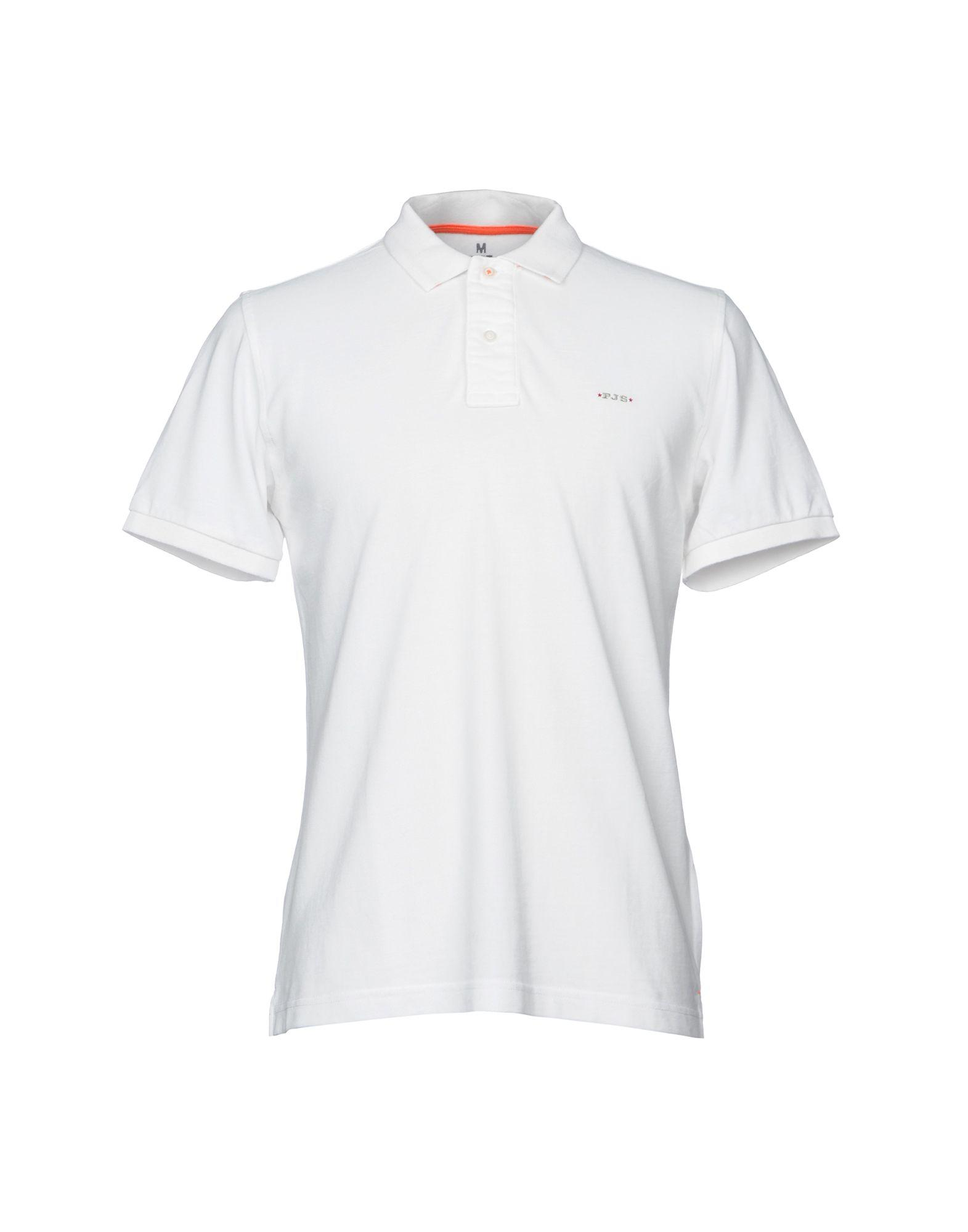 Parajumpers. Men's White Polo Shirt