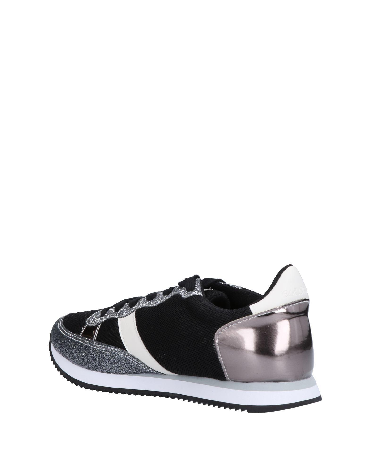 U.S. POLO ASSN. Low-tops & Sneakers in Lead (Black)
