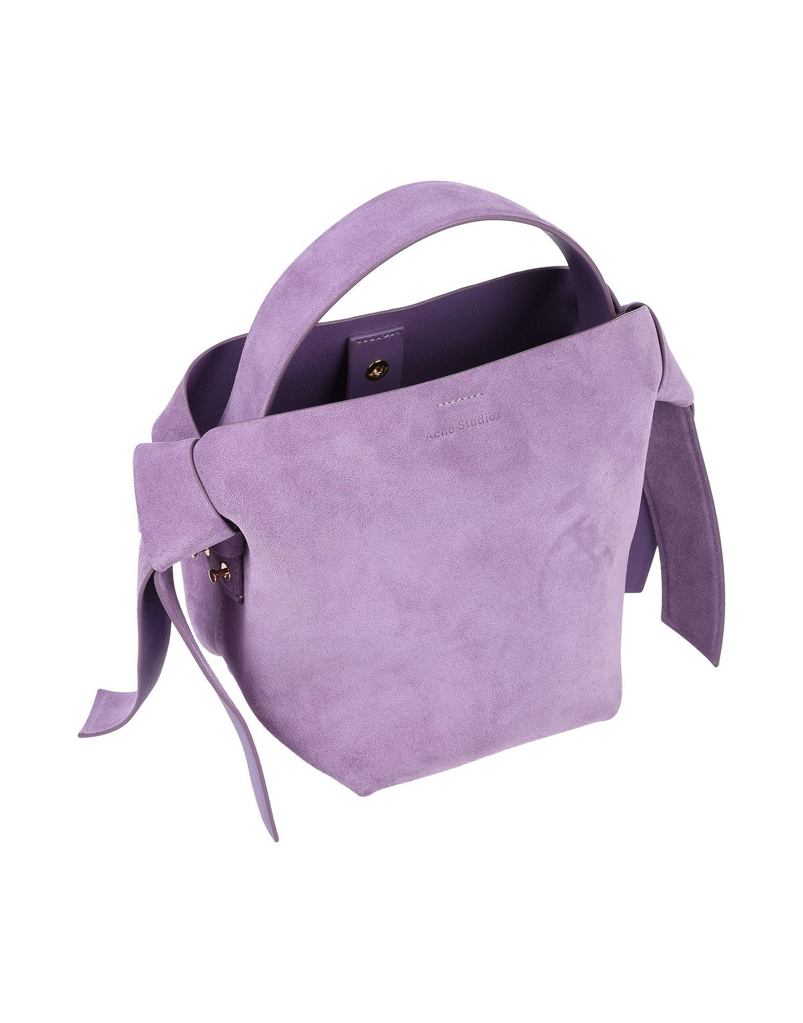 Acne Studios Handtaschen in Lila r80nj