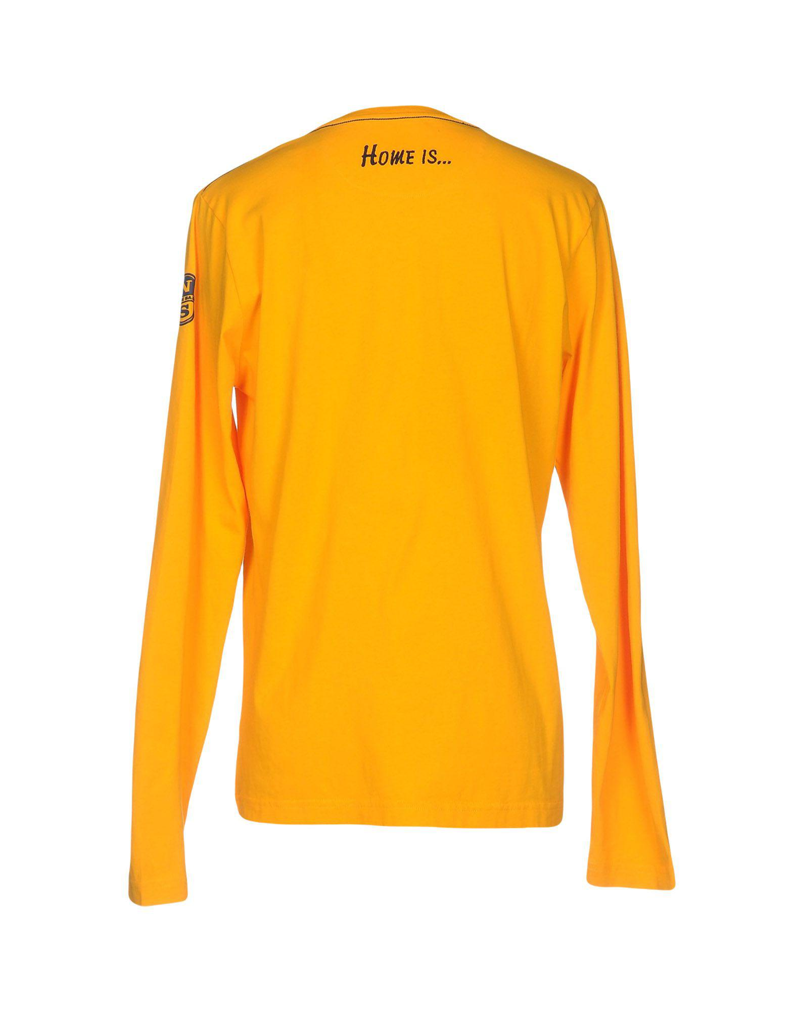 Lyst north sails t shirt in orange for men for 20 34 35 dress shirts