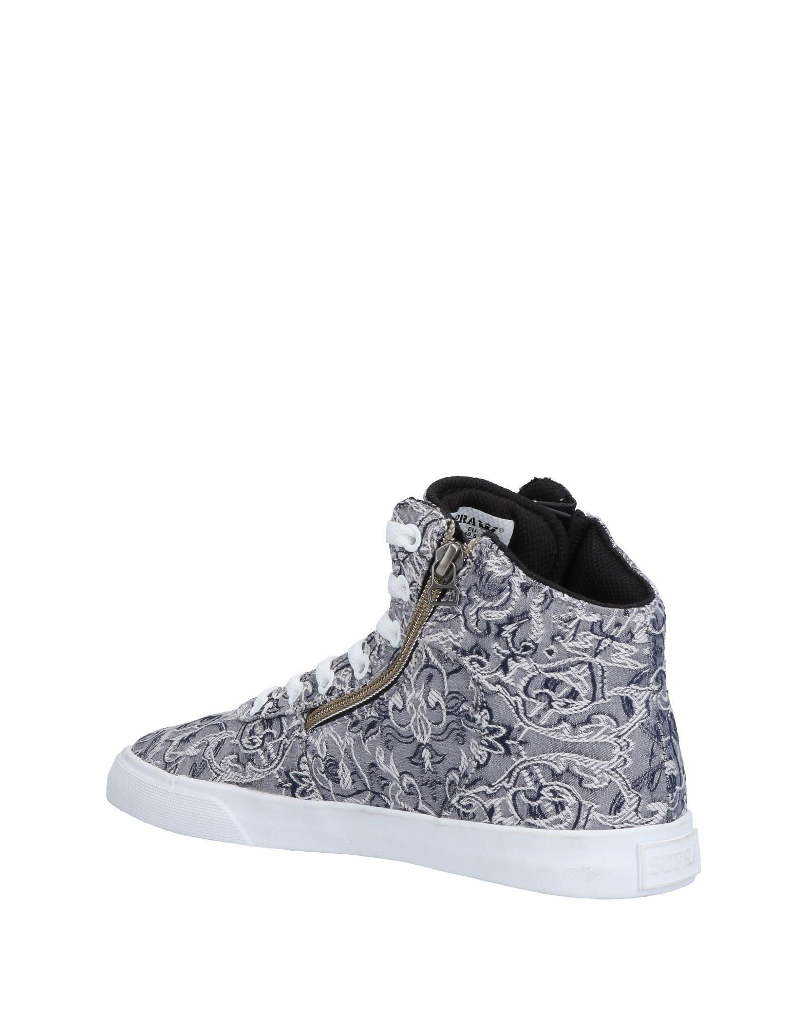 Supra Rubber High-tops & Sneakers in Blue