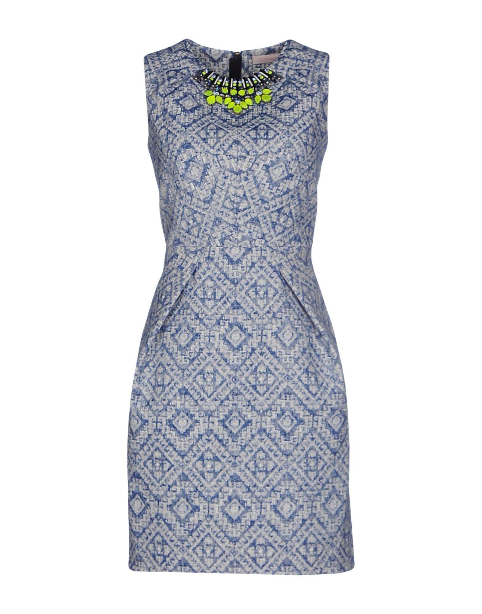 Matthew Williamson Woman Pompom-trimmed Printed Silk Mini Dress Turquoise Size 6 Matthew Williamson qU3WblVtcM