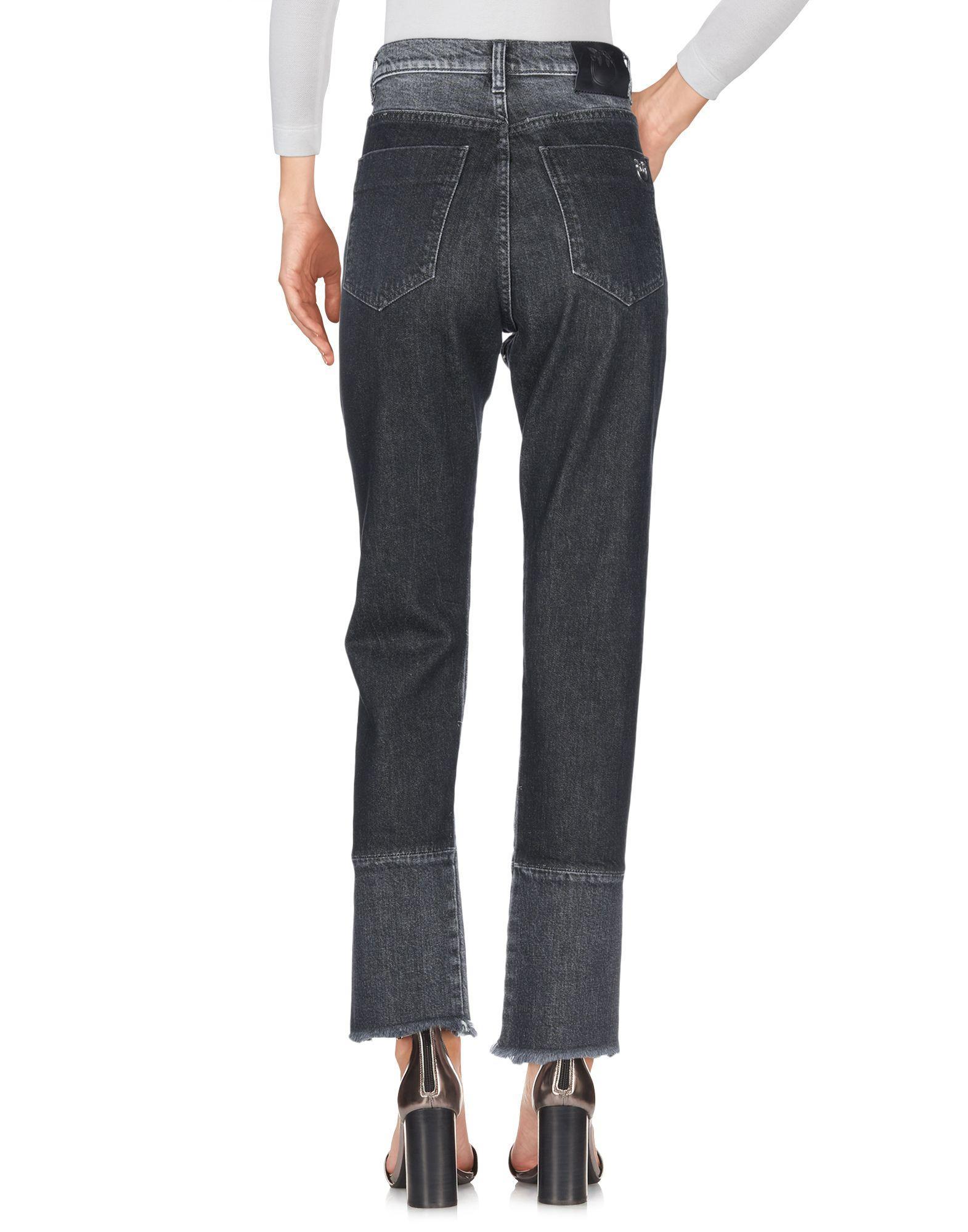 Pantalones vaqueros Pinko de Denim de color Negro