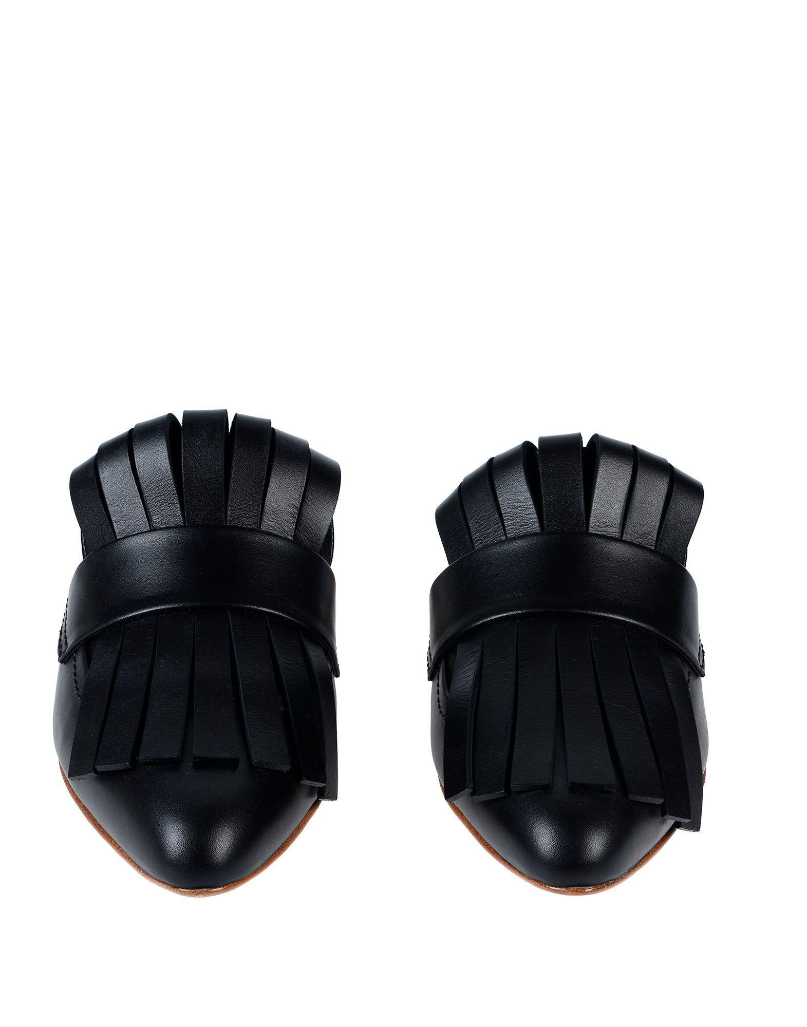 Mules & Zuecos Marni de Cuero de color Negro