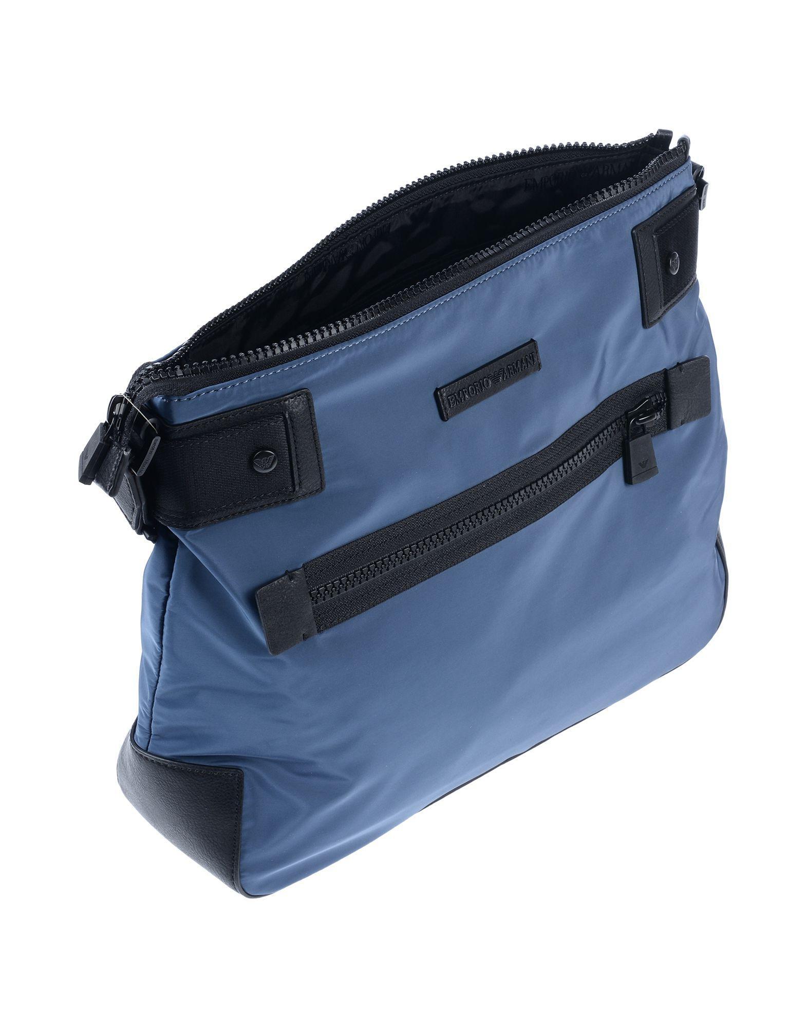 75e1f977ffd4 Lyst - Emporio Armani Cross-body Bag in Blue for Men