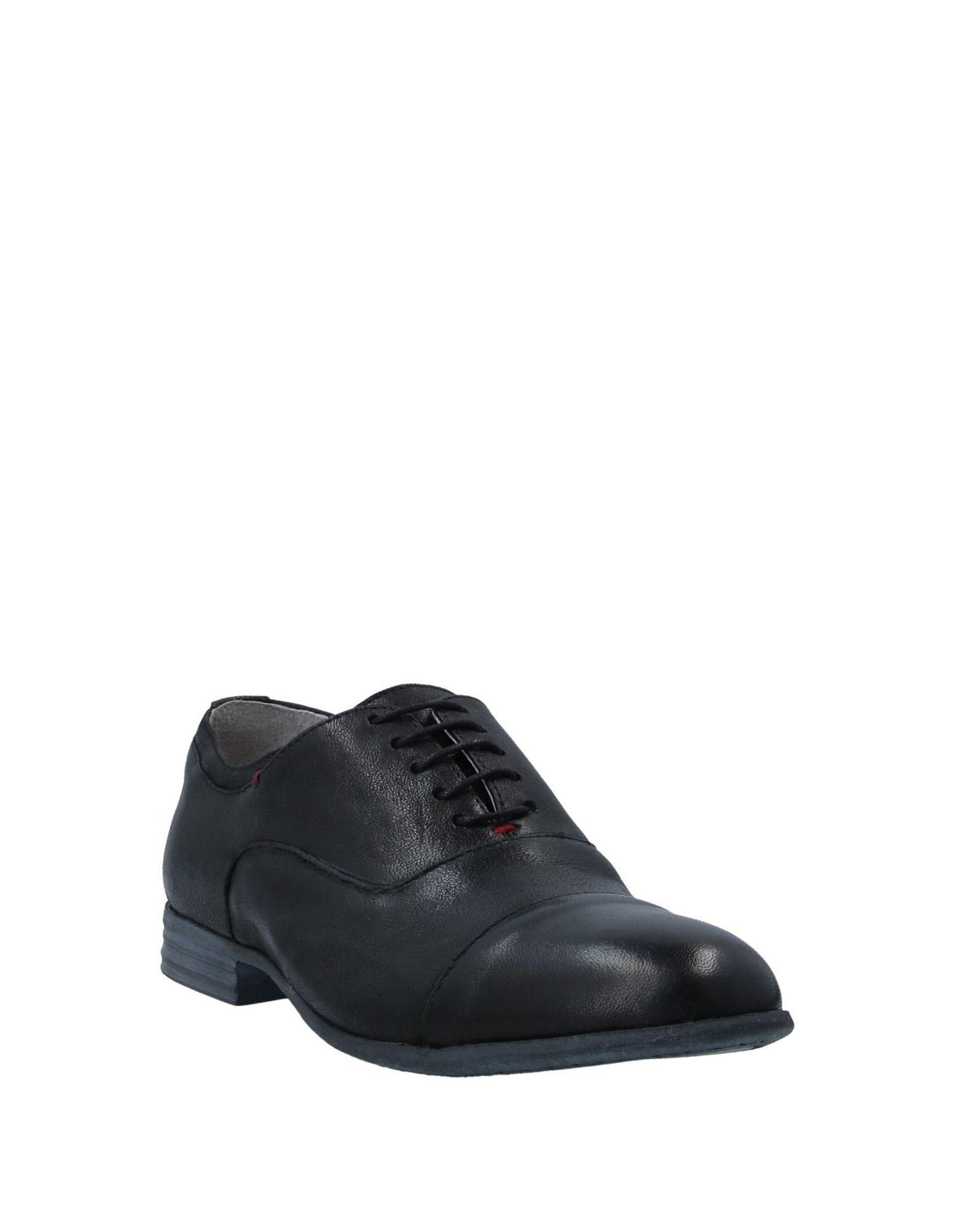 Zapatos de cordones CafeNoir de Cuero de color Negro para hombre
