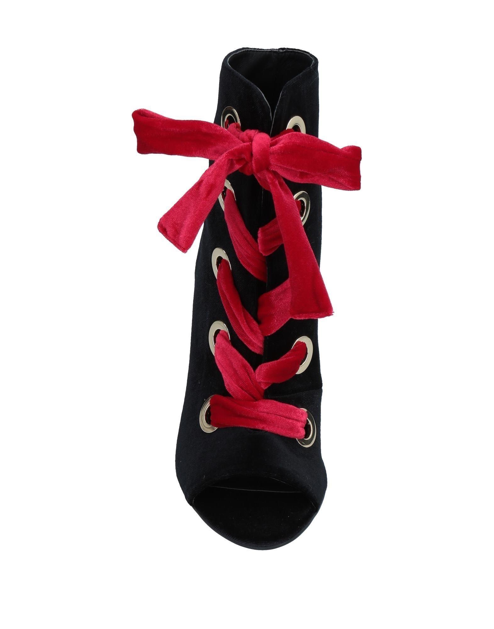 Botines de caña alta Silvian Heach de Terciopelo de color Negro