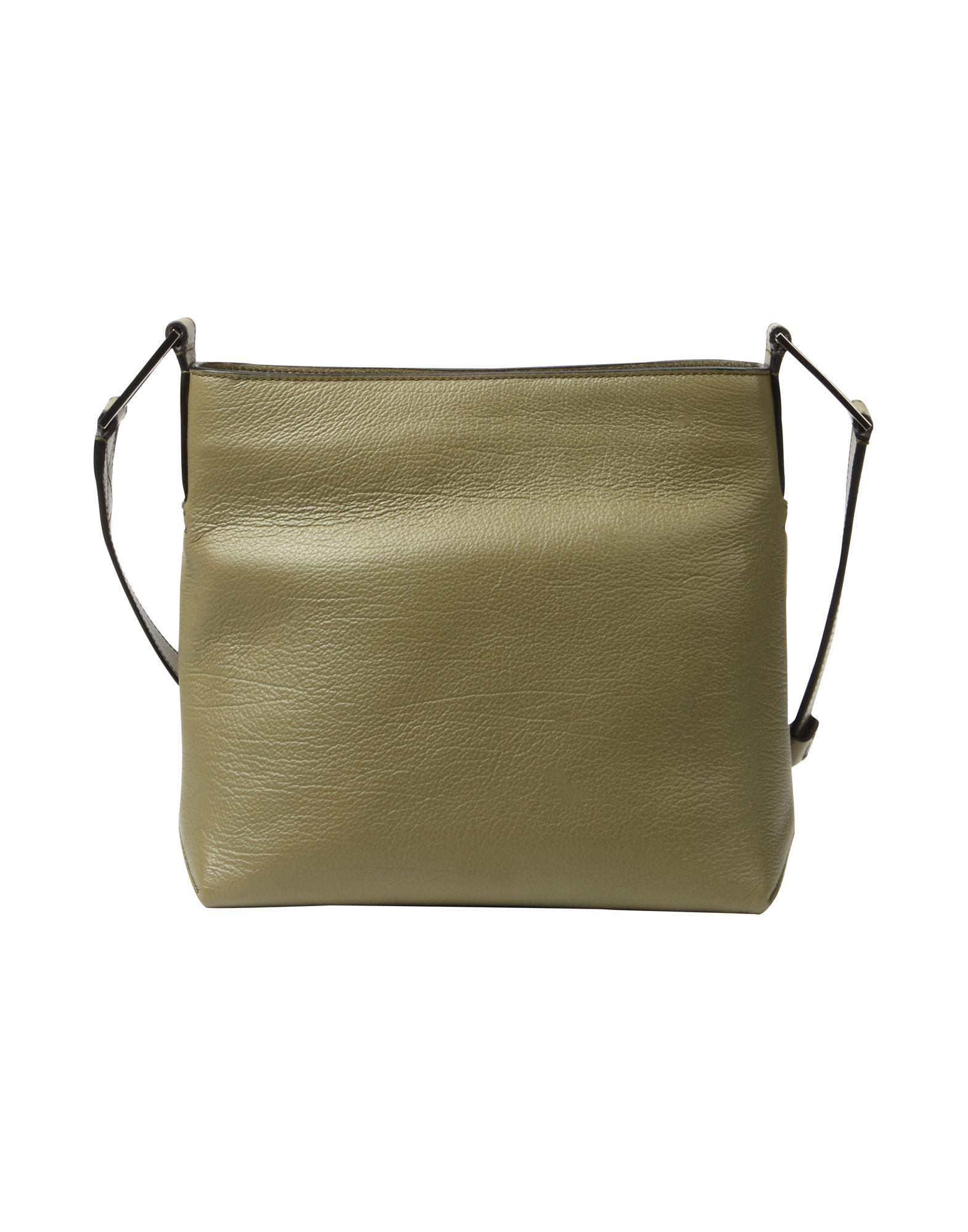 Lancel Leather Cross-body Bag in Military Green (Green)