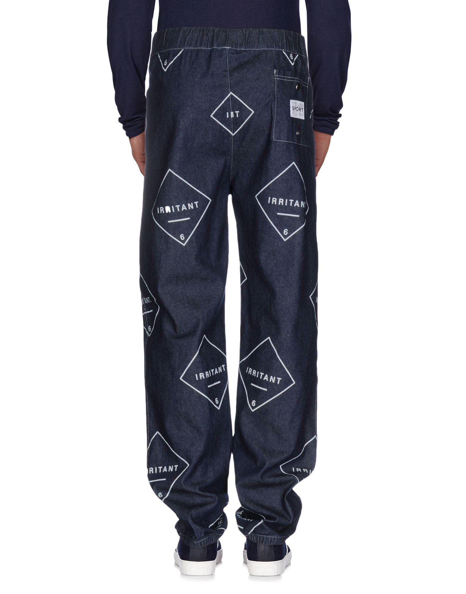 VFiles Denim Trousers in Blue for Men