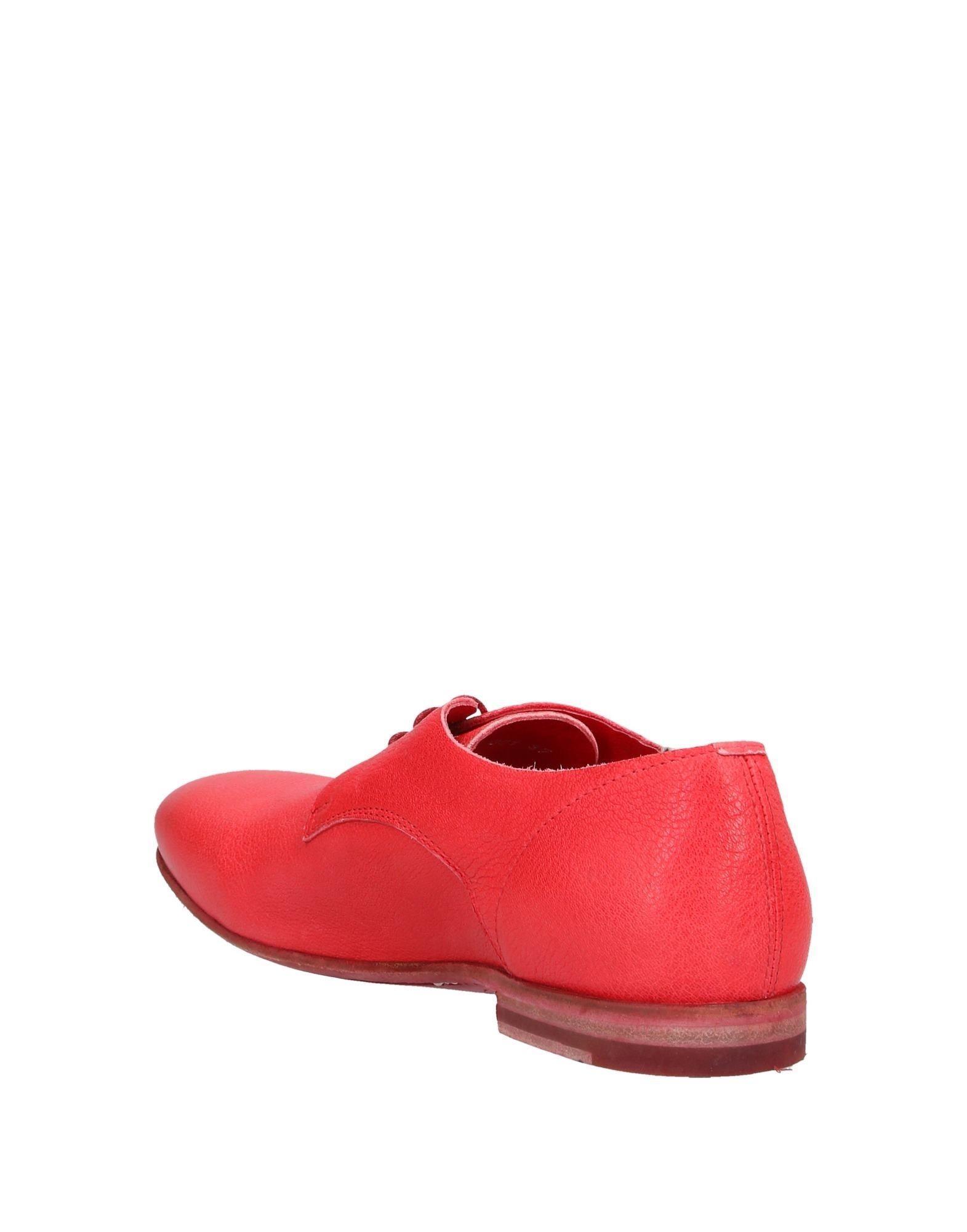 Zapatos de cordones Officine Creative de Cuero de color Rojo