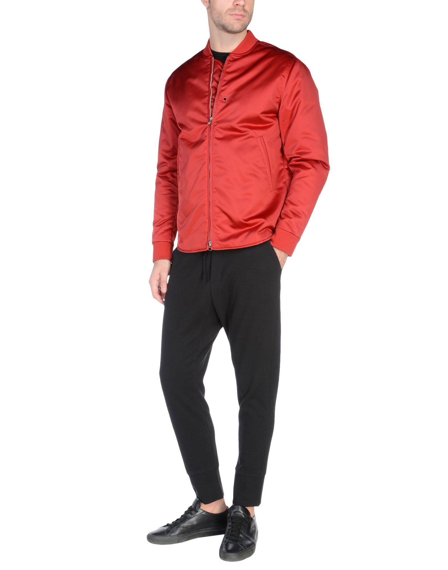 Acne Studios Synthetic Jacket in Maroon (Red) for Men