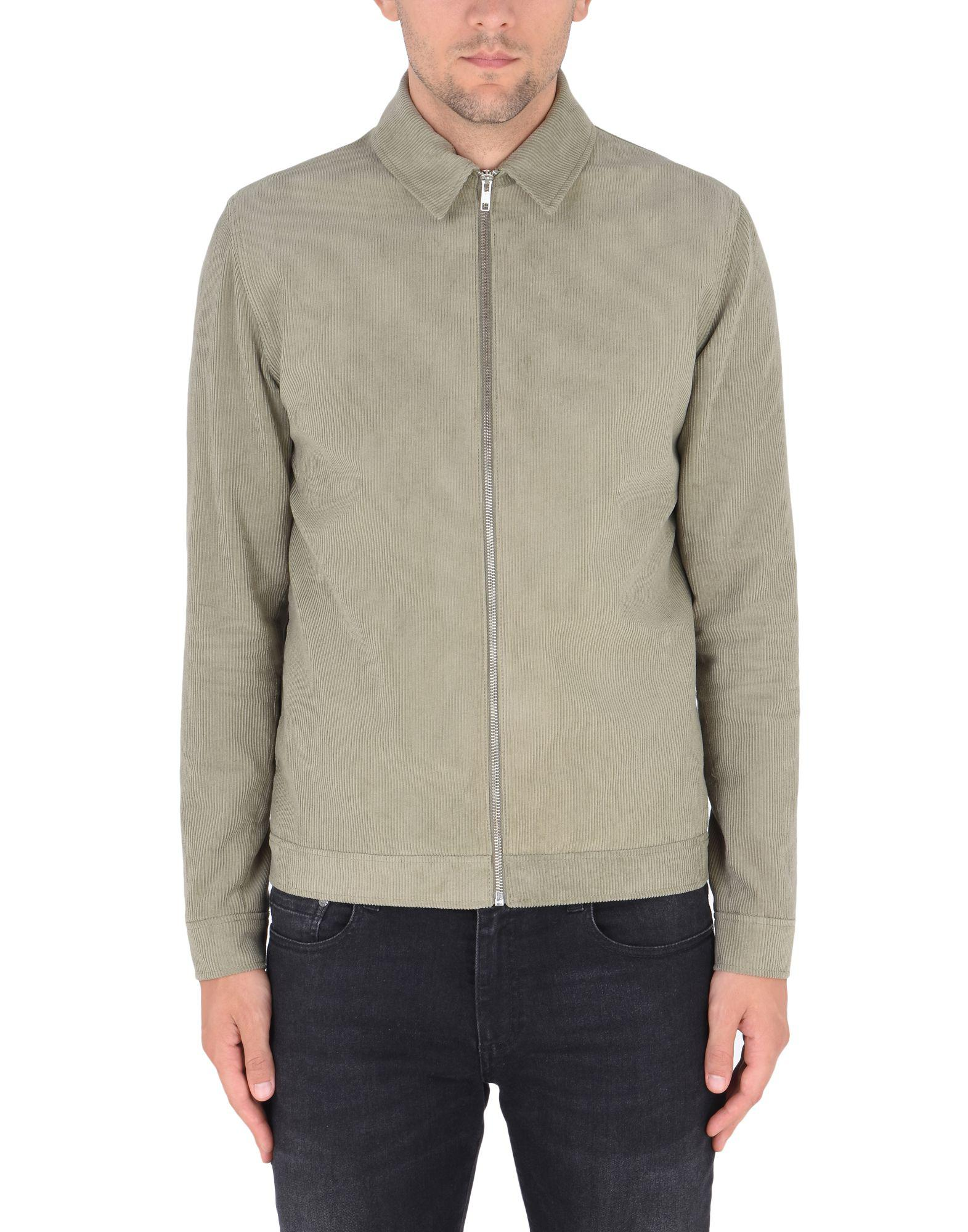 Samsøe & Samsøe Corduroy Jacket in Military Green (Green) for Men