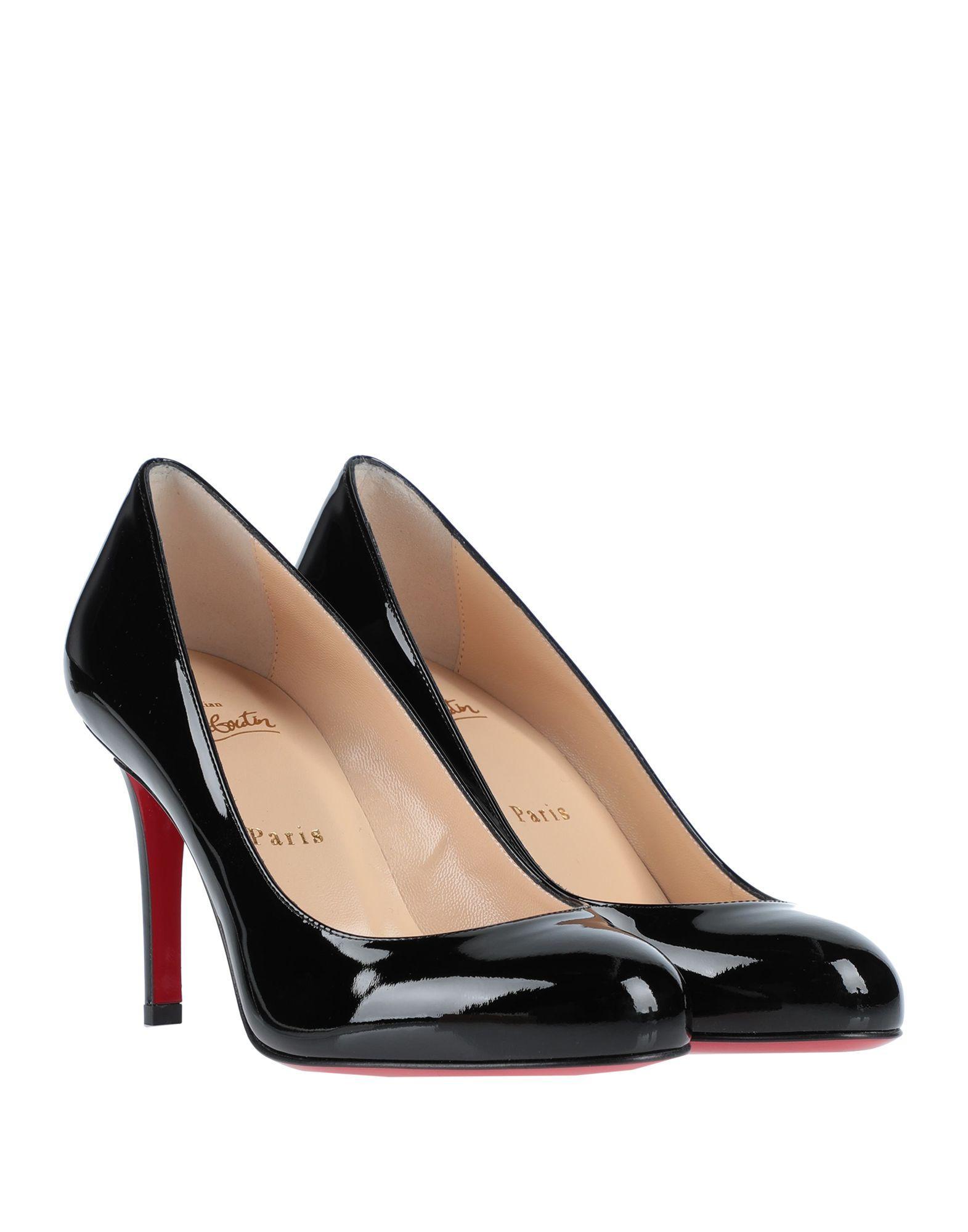 Zapatos de salón Christian Louboutin de Cuero de color Negro