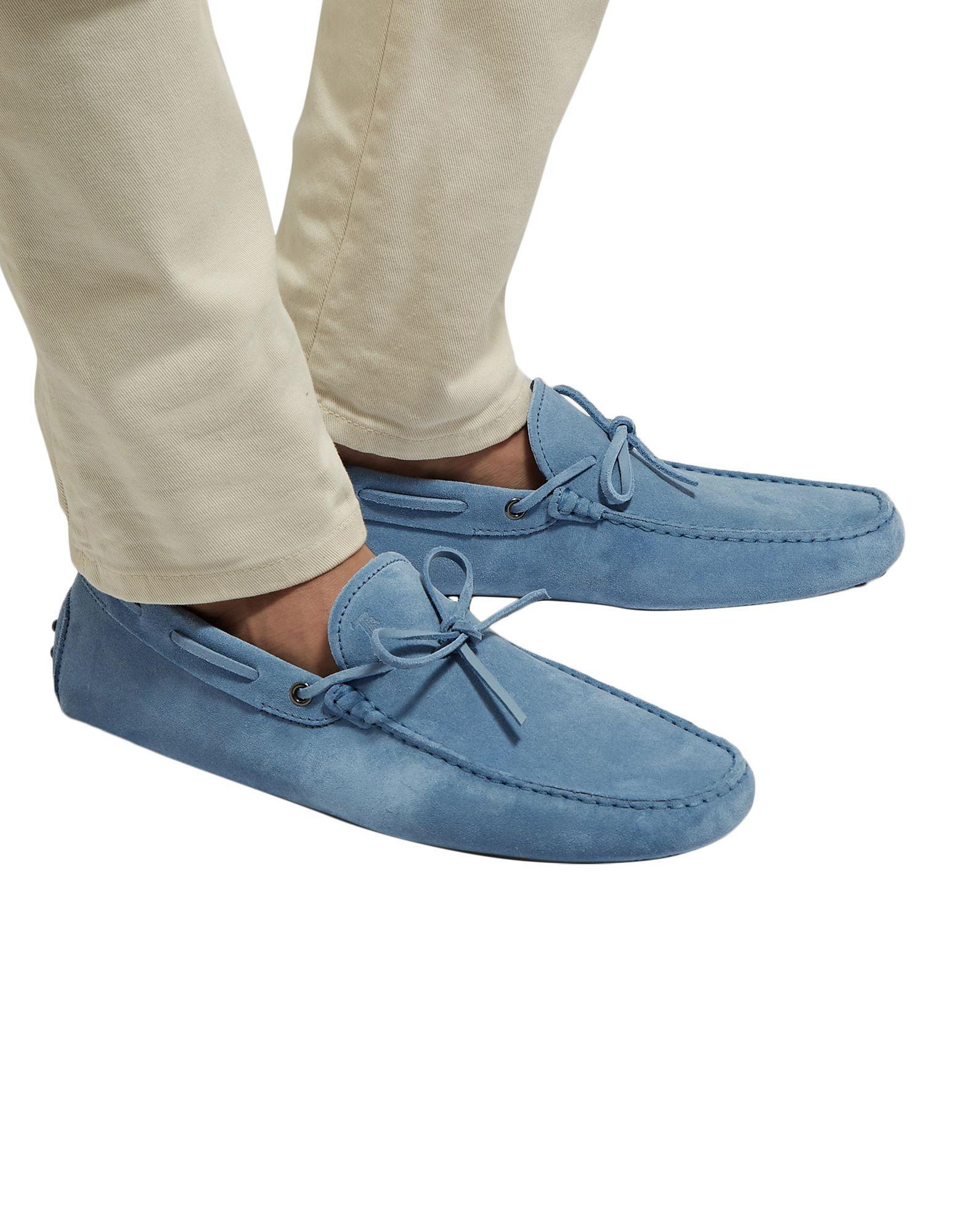 Mocasines Tod's de hombre de color Azul