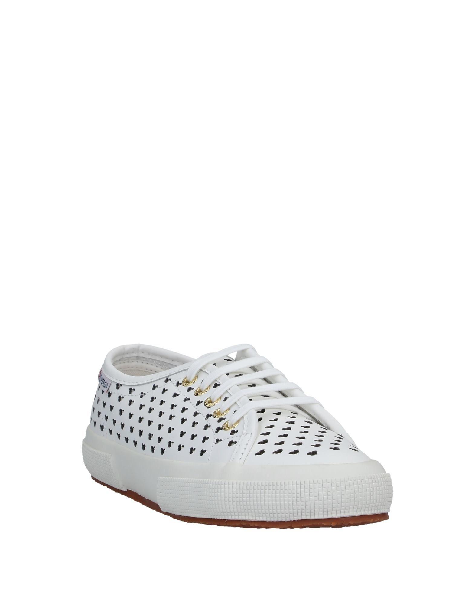 Sneakers & Deportivas Superga de Cuero de color Blanco