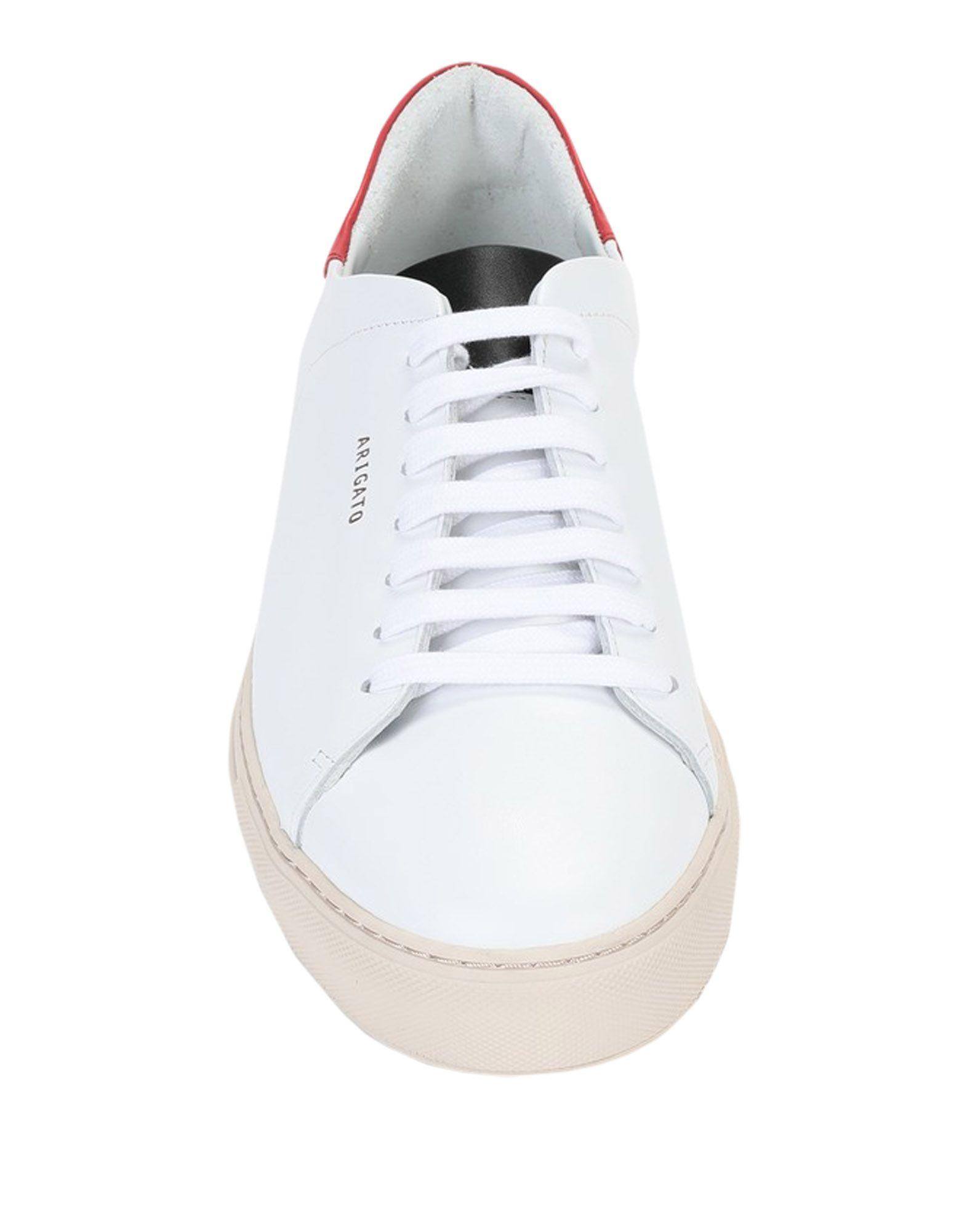 Axel Arigato Leder Low Sneakers & Tennisschuhe in Weiß für Herren ajs83