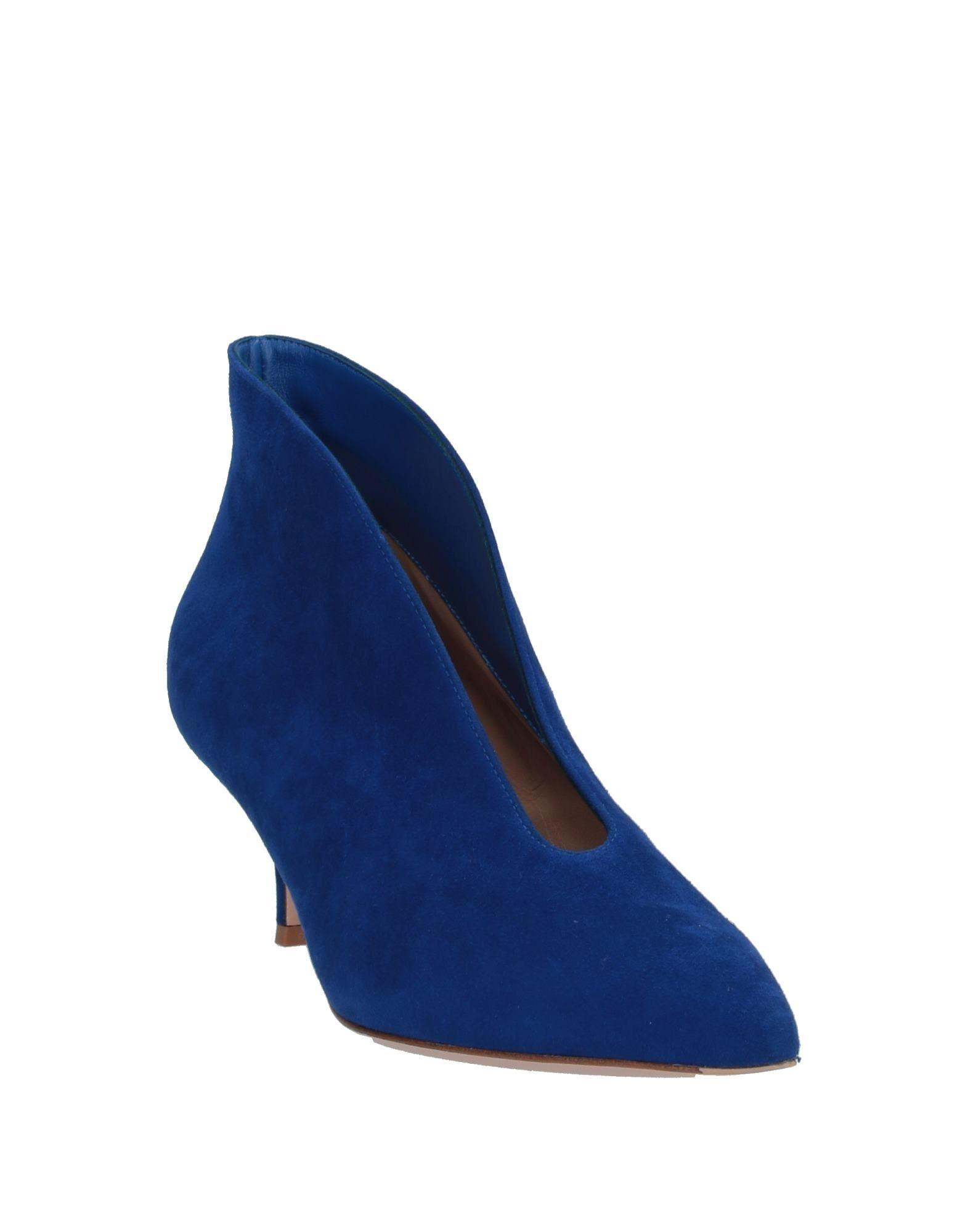 Botines Gianvito Rossi de Ante de color Azul