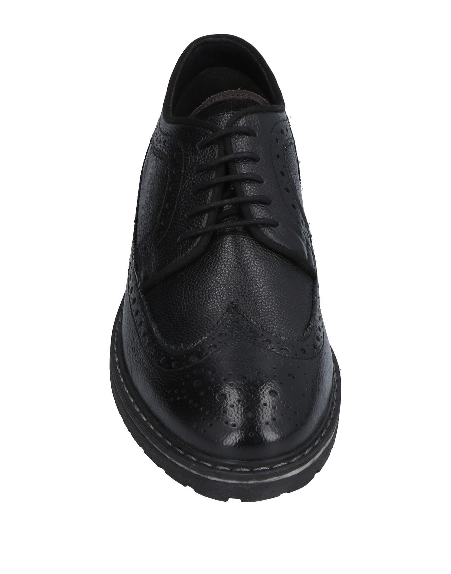 Zapatos de cordones Lumberjack de Cuero de color Negro para hombre