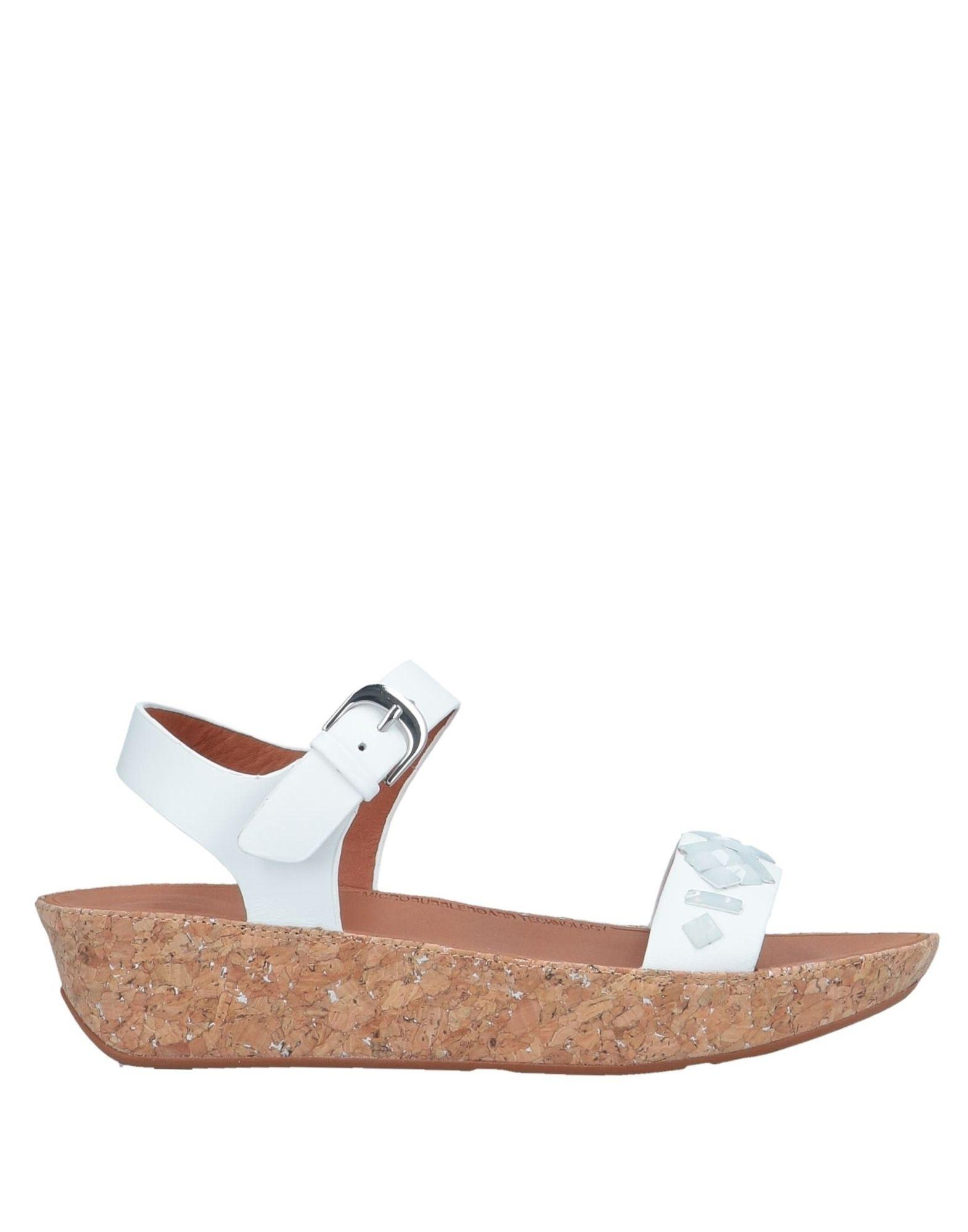 d155e1f50650f Fitflop Sandals in White - Save 67% - Lyst