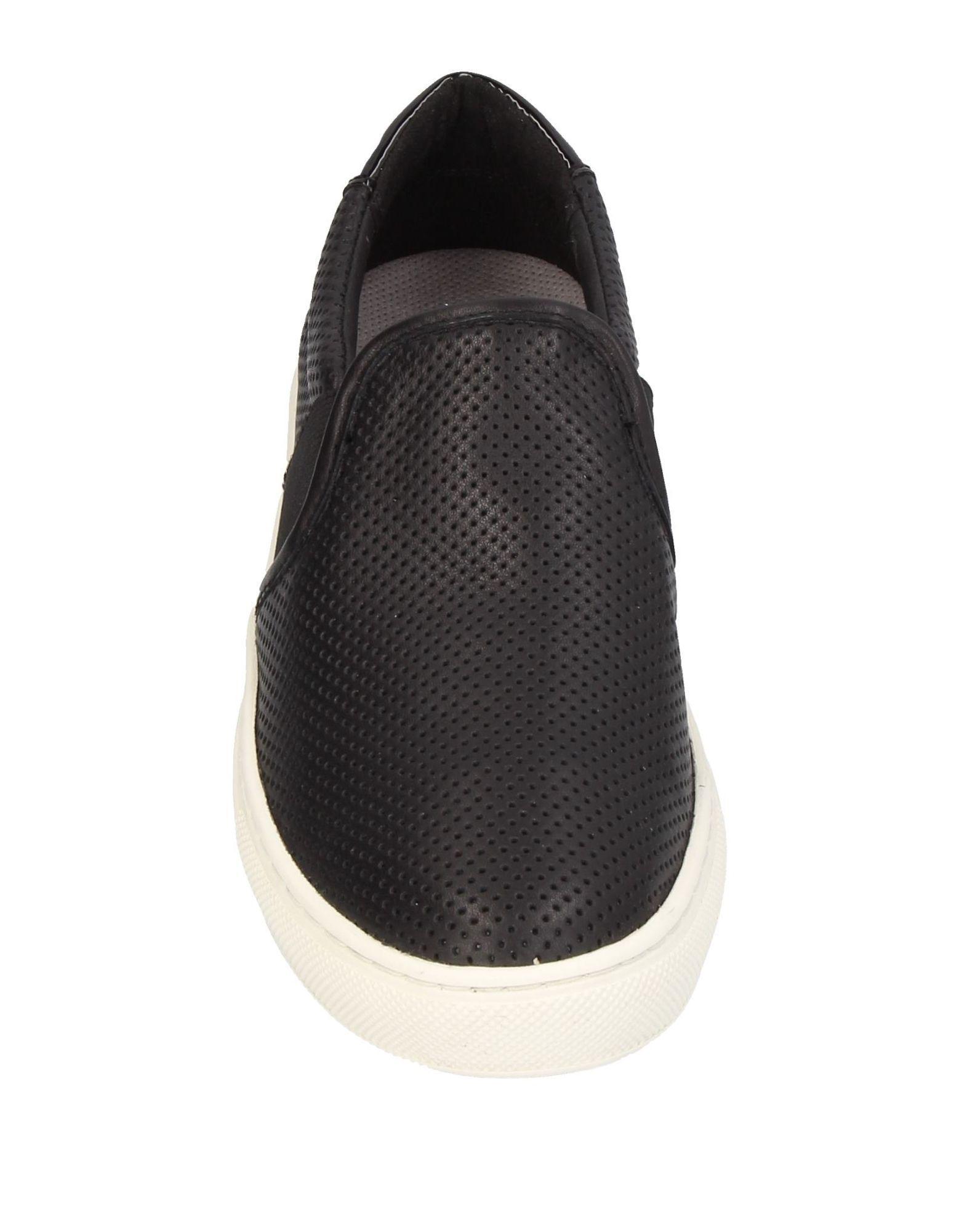 Geox Suede Low-tops & Sneakers in Black