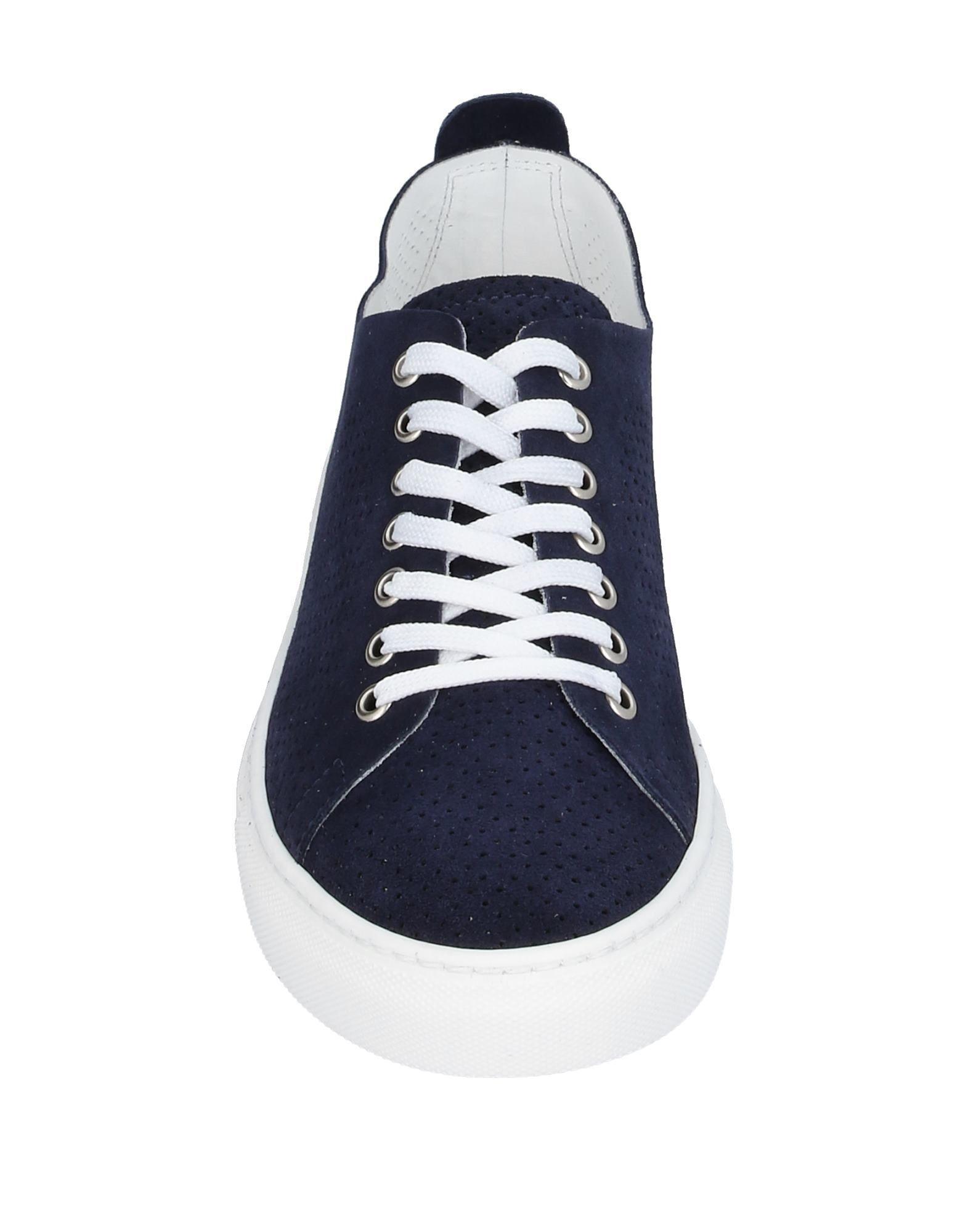 Sneakers & Tennis basses Cuir Minoronzoni 1953 pour homme en coloris Bleu Uiia