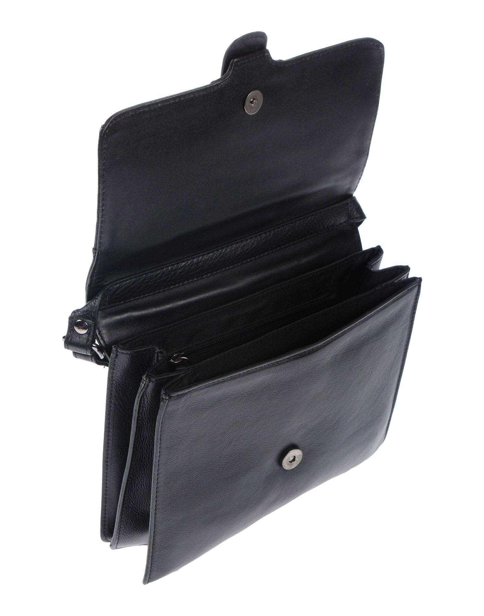 Marc Ellis Leather Cross-body Bags in Black