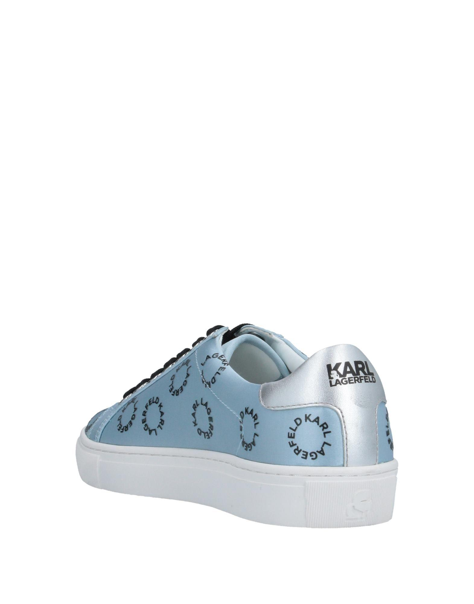 Sneakers & Deportivas Karl Lagerfeld de Raso de color Azul