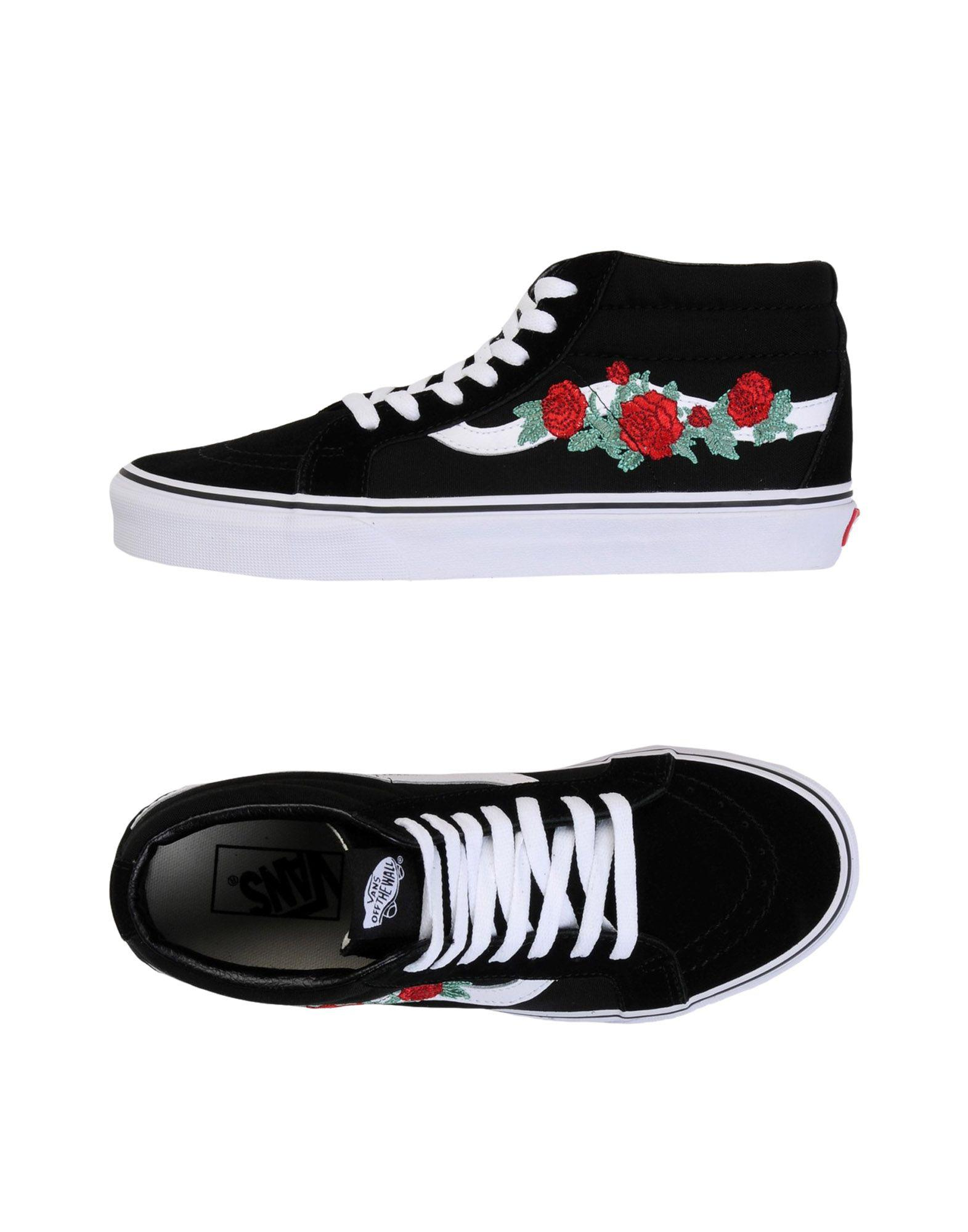 4c0bfb59cb9fc9 Lyst - Vans High-tops   Sneakers in Black