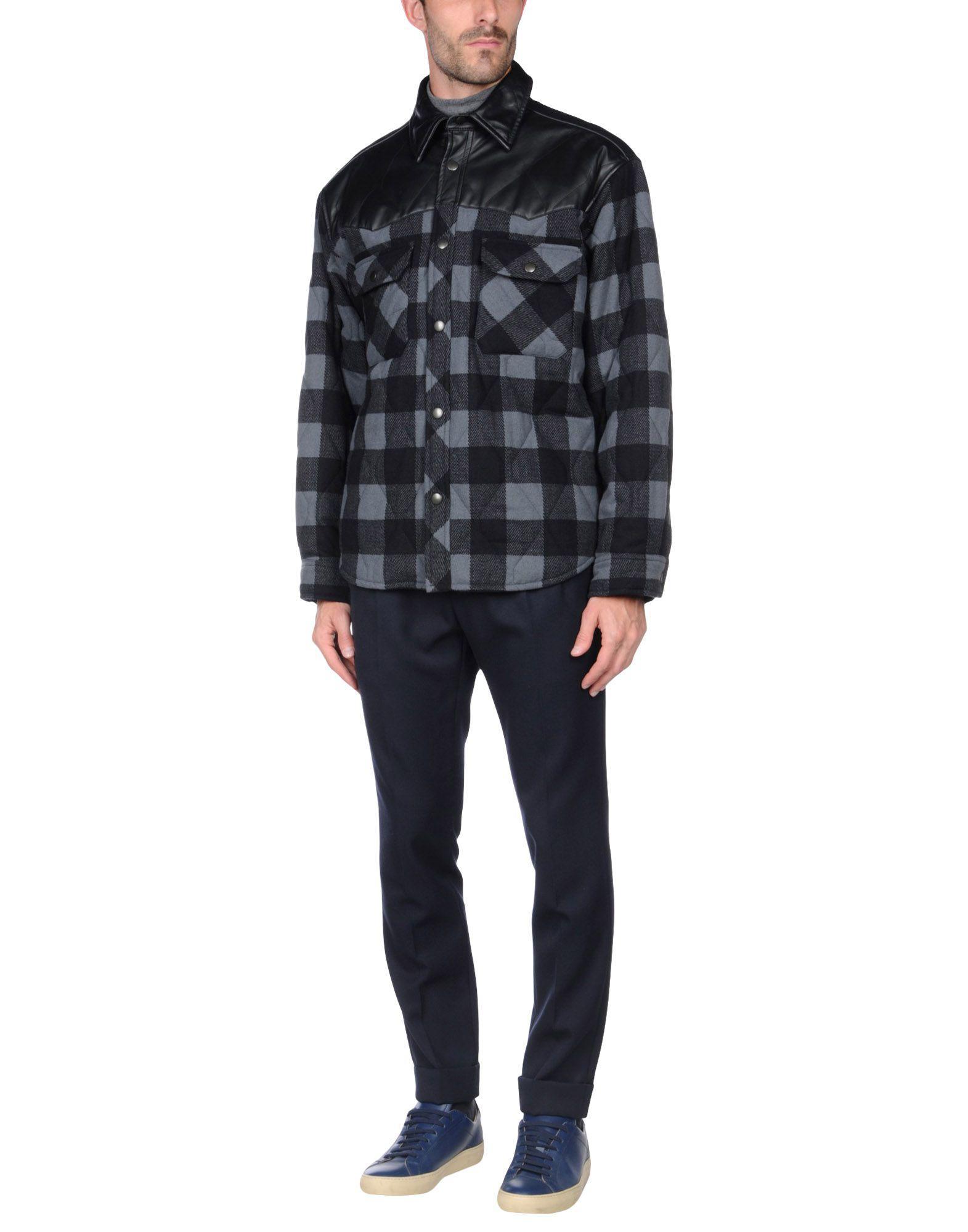Lyst Balenciaga Jackets In Black For Men