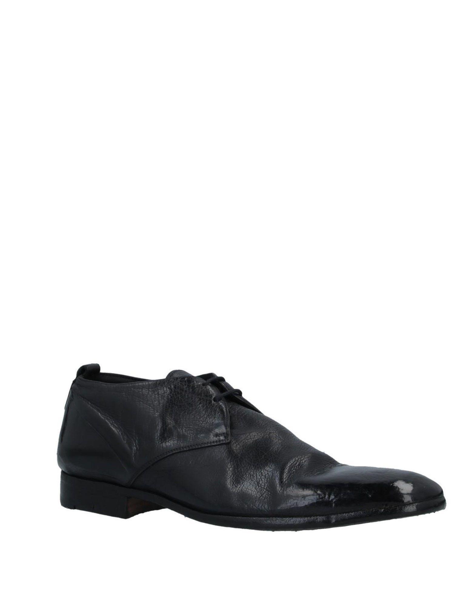 Zapatos de cordones Alberto Fasciani de Cuero de color Negro para hombre