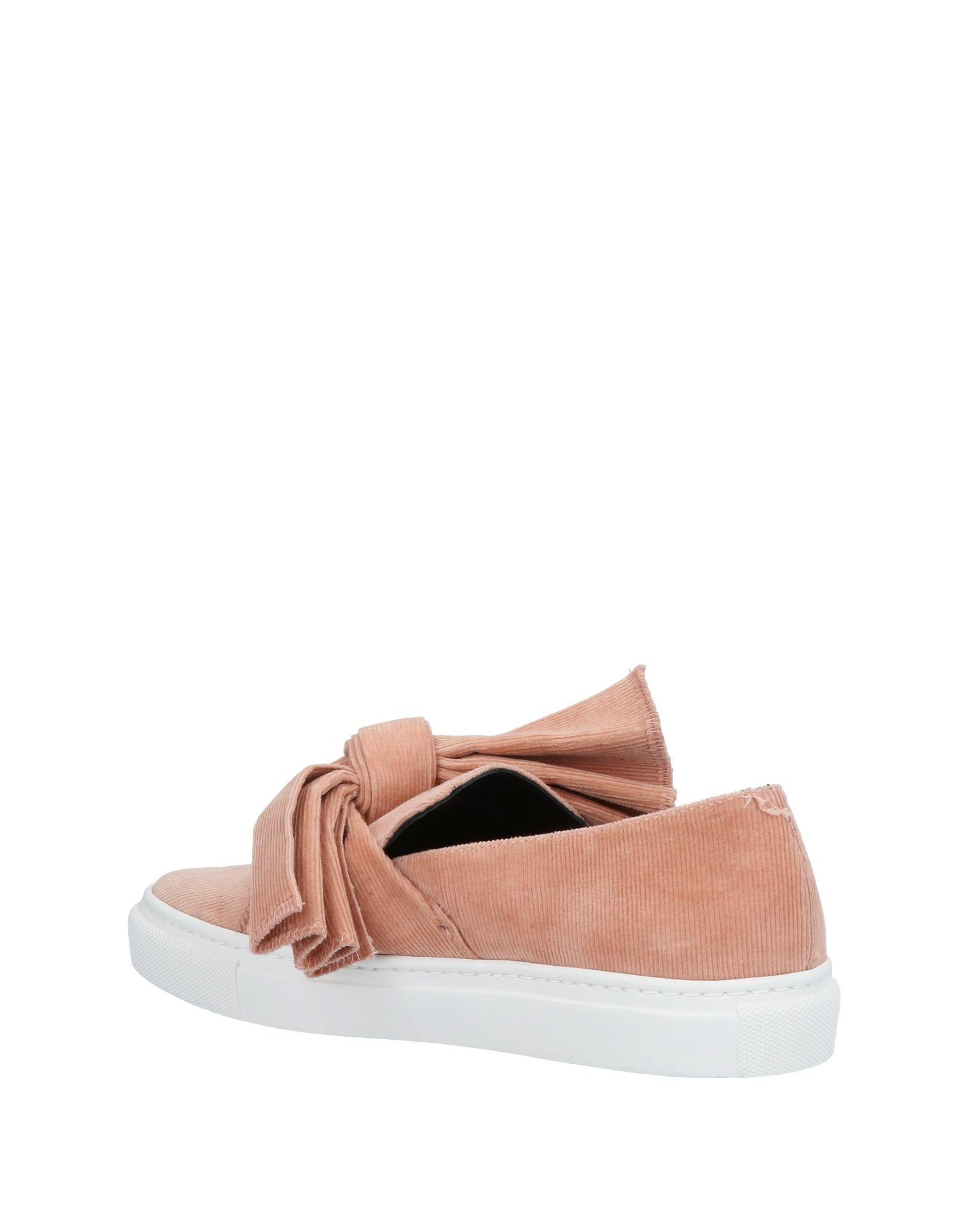 Cedric Charlier Corduroy Low-tops & Sneakers in Pale Pink (Pink)