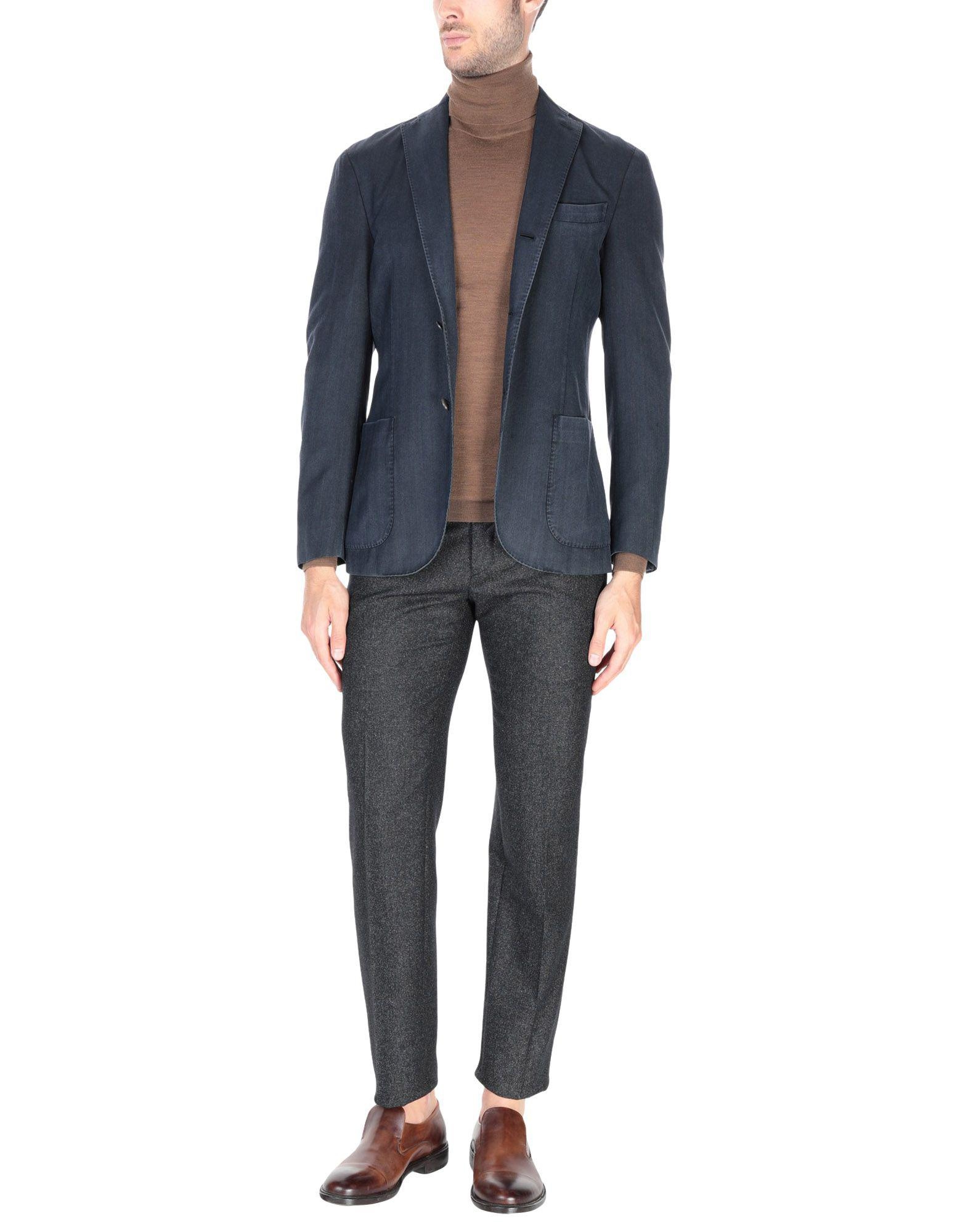 Boglioli Wool Blazer in Steel Grey (Grey) for Men