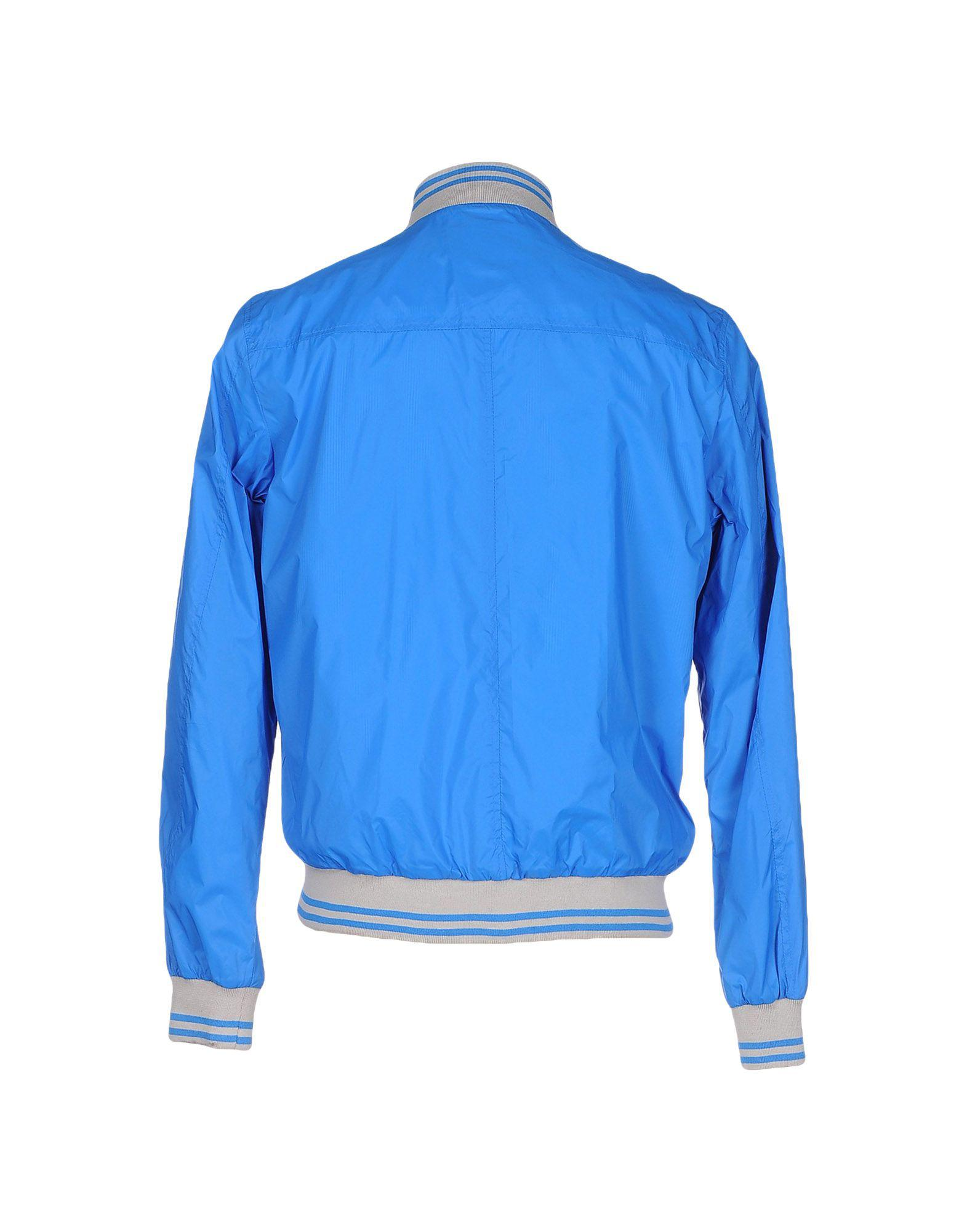 Romeo Gigli Synthetic Jacket in Bright Blue (Blue) for Men